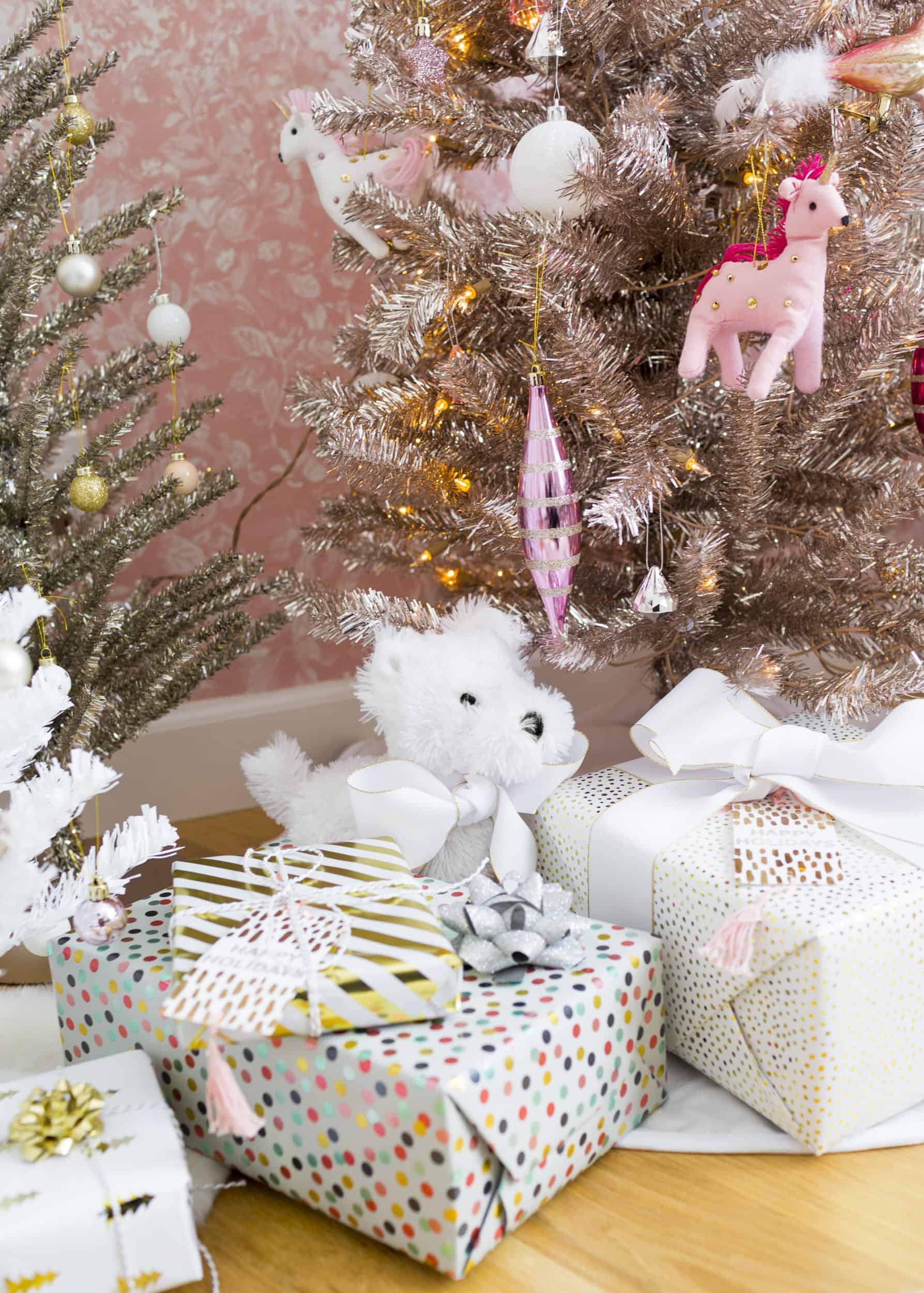 Emily Henderson Blush Rose Gold Christmas 7