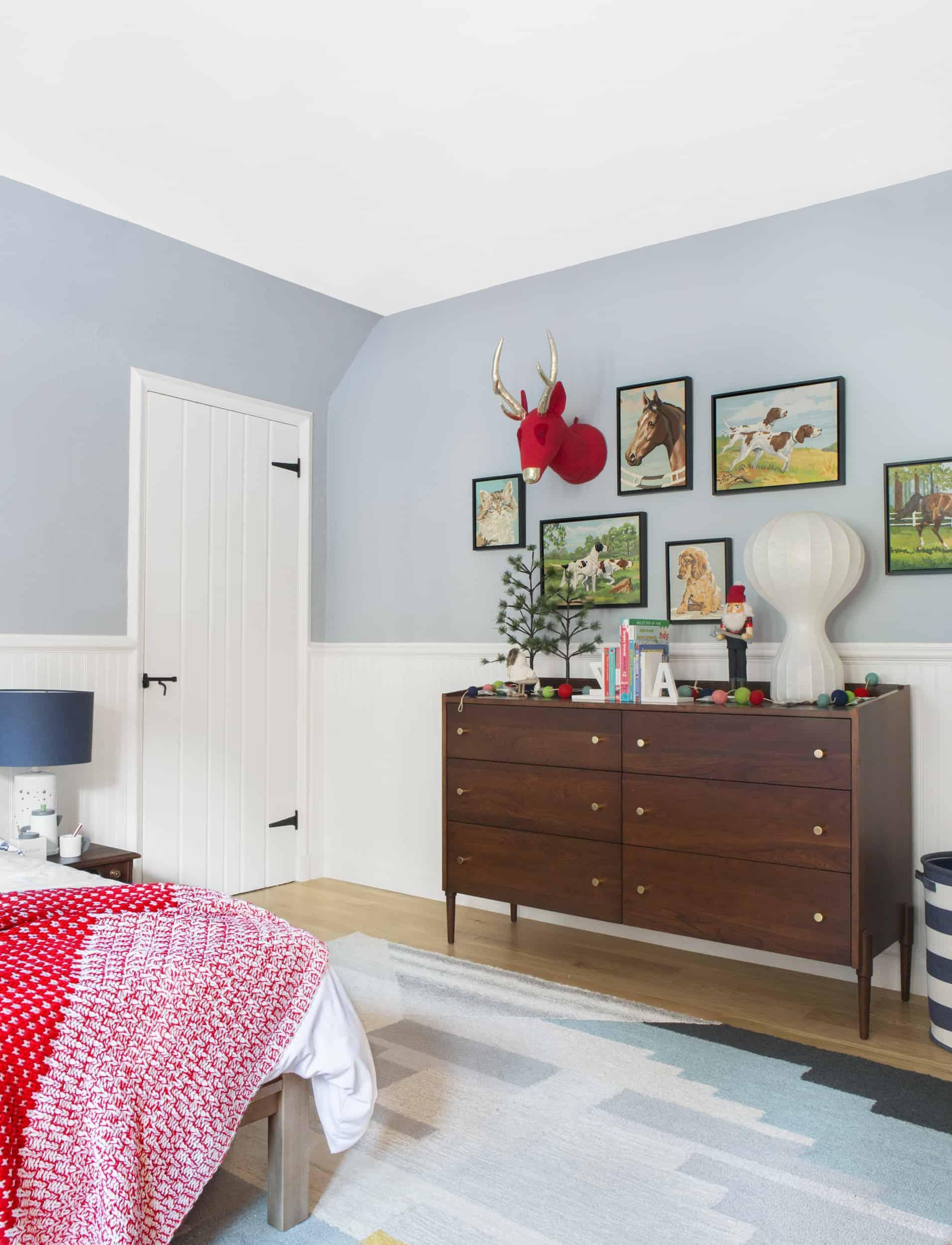 Emily Henderson Christmas Decorating Little Boys Room 101