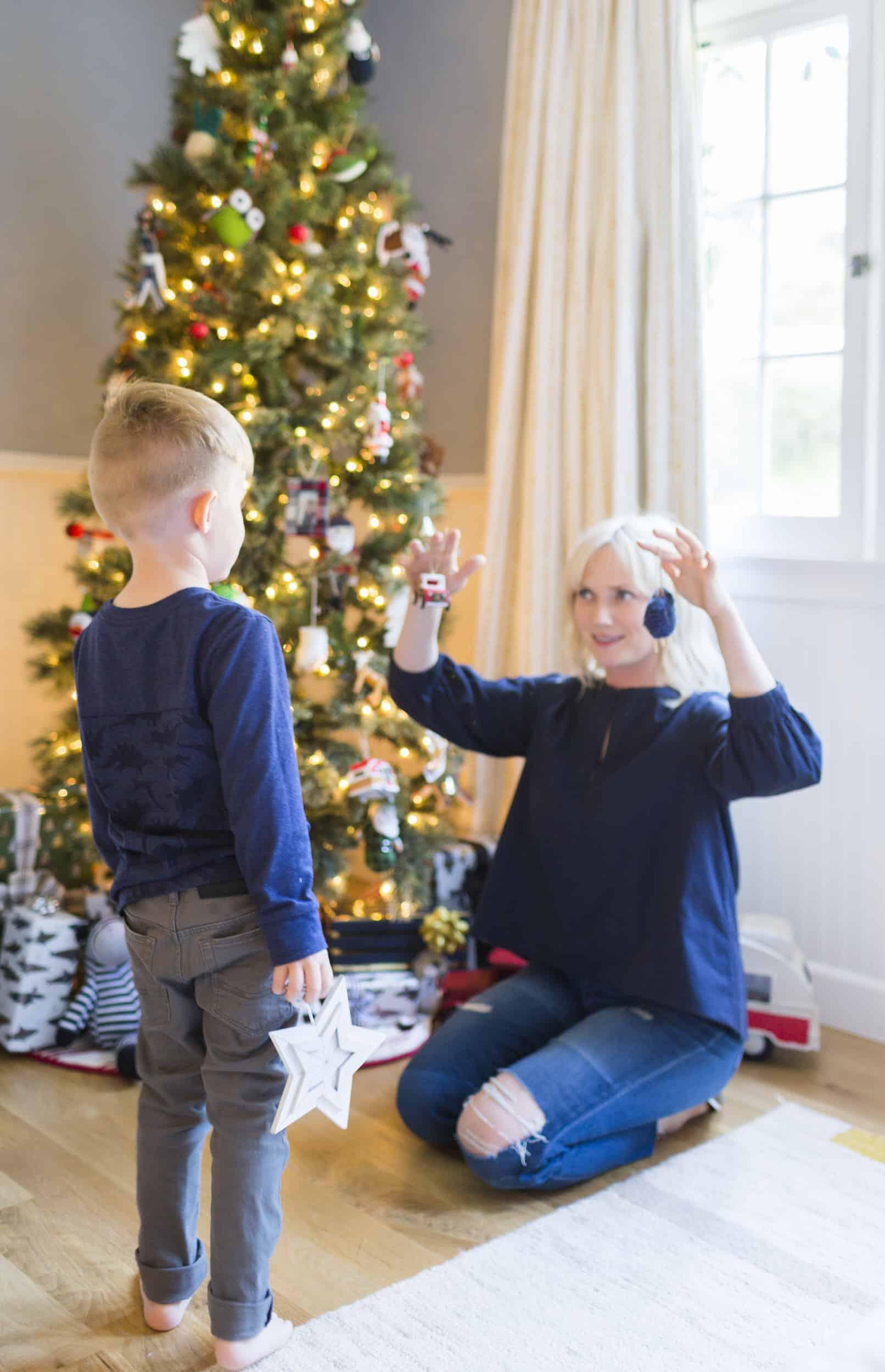 Emily Henderson Christmas Decorating Little Boys Room 121