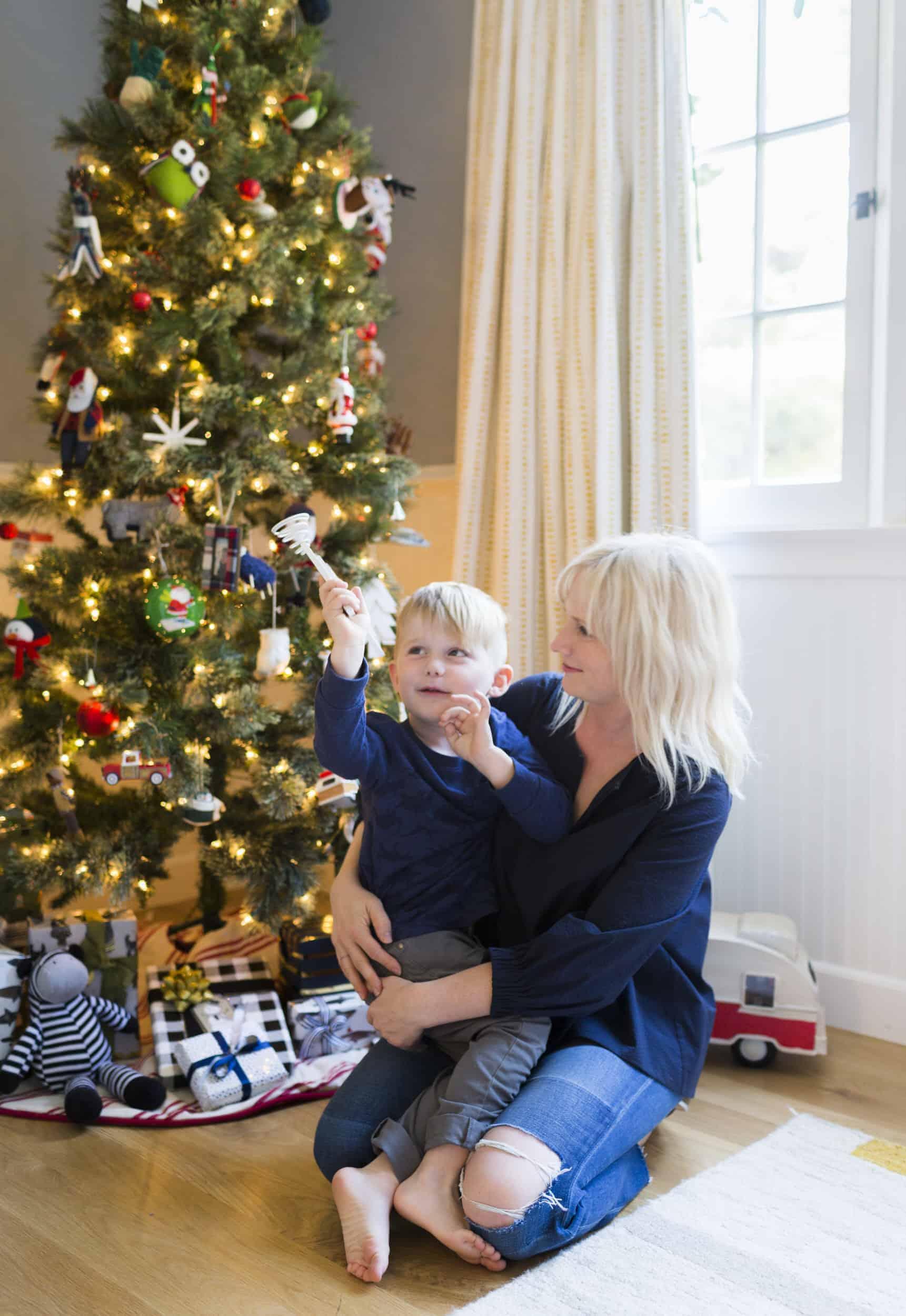 Emily Henderson Christmas Decorating Little Boys Room 161