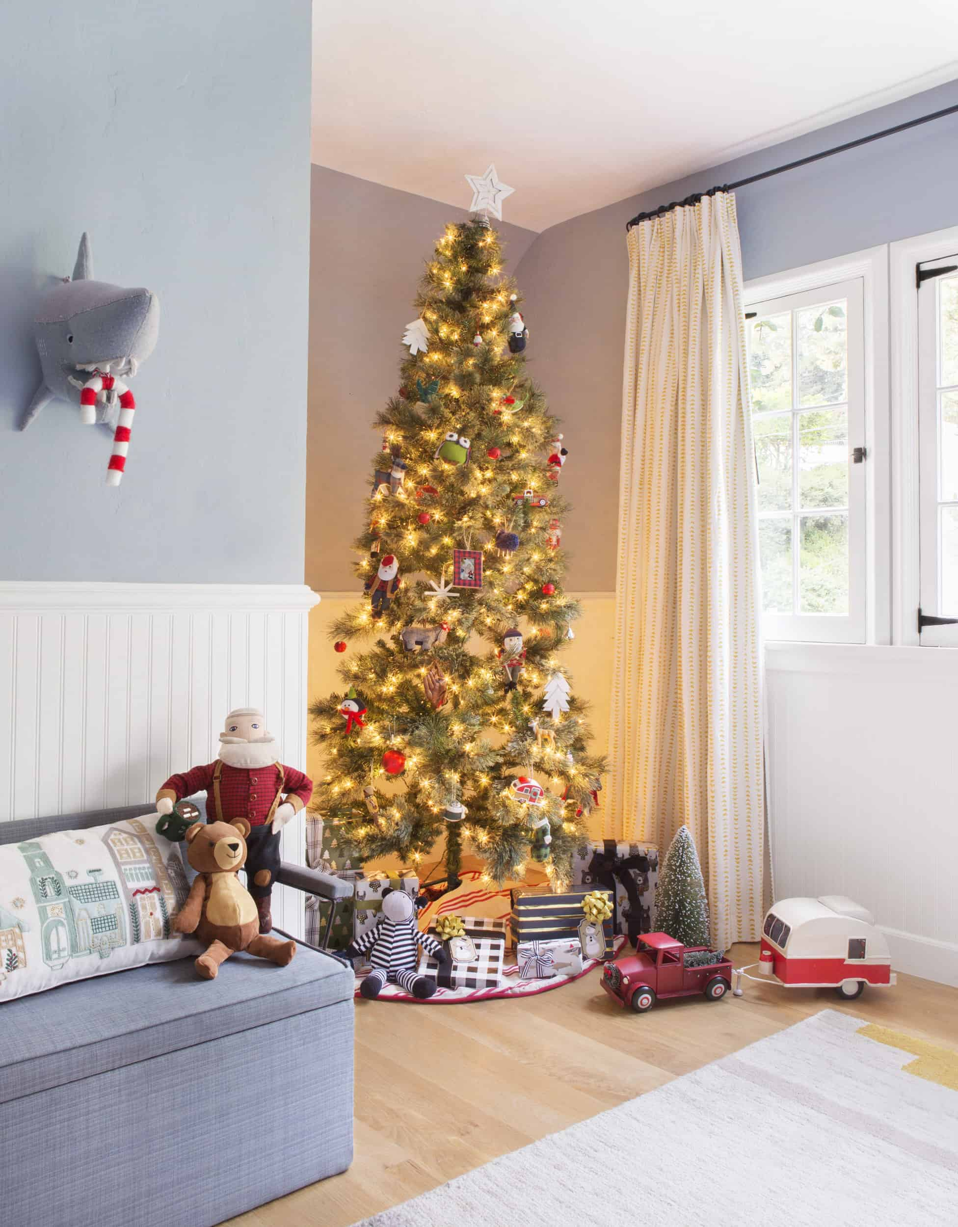 Emily Henderson Christmas Decorating Little Boys Room 21