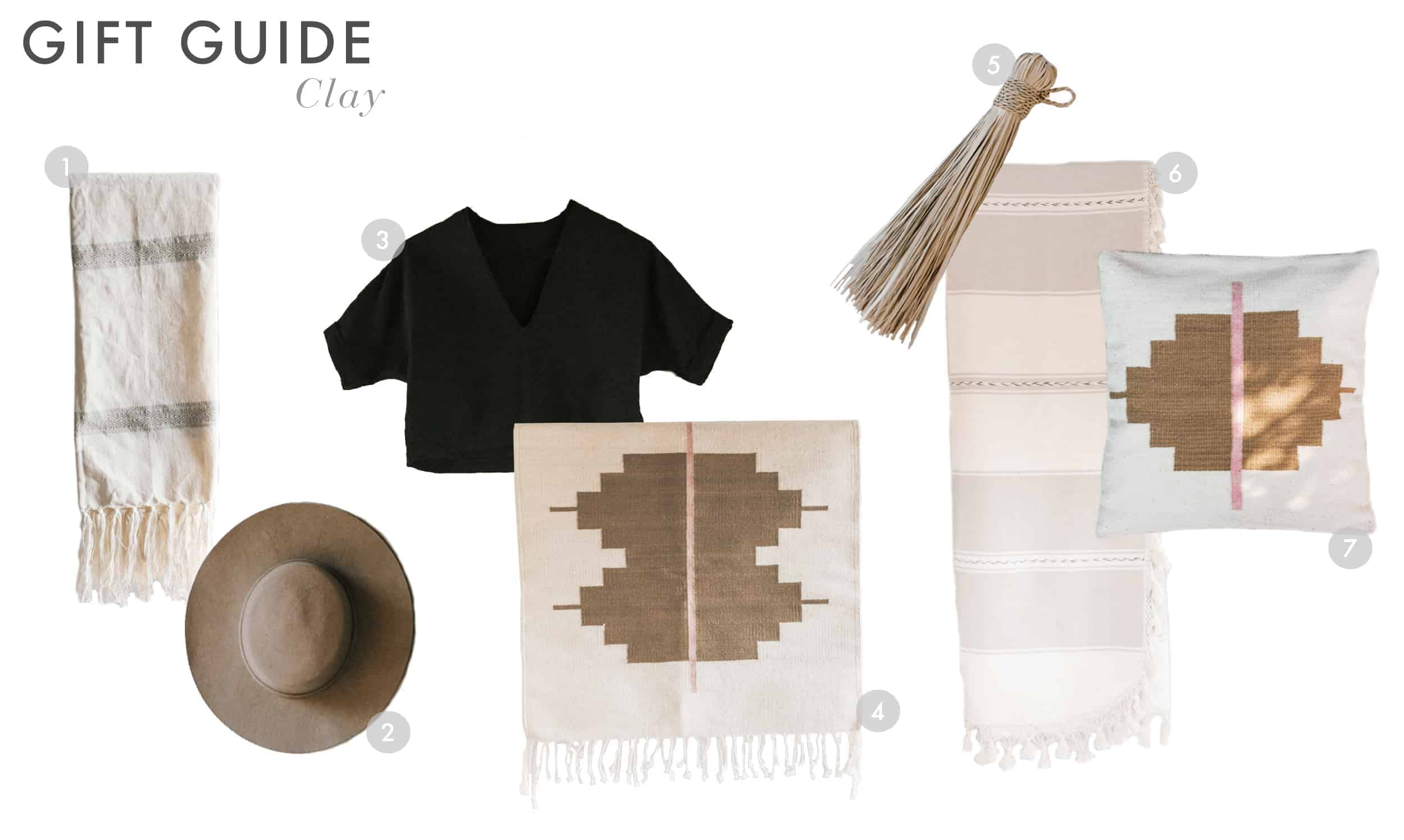 Emily Henderson Gift Guide 2017 Holiday Christmas B Corp Socially Concious Clay 01