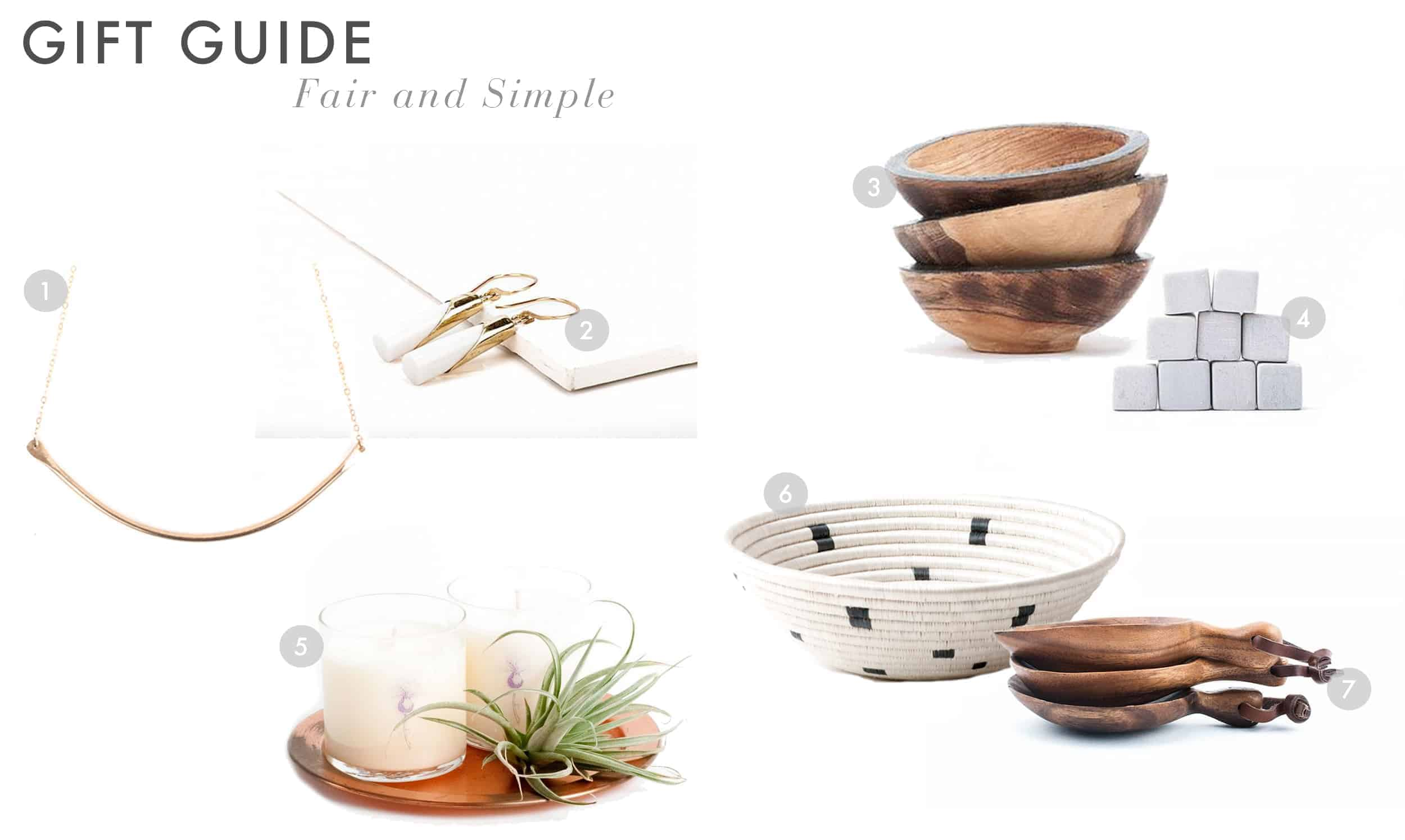 Emily Henderson Gift Guide 2017 Holiday Christmas B Corp Socially Concious Fair And Simple