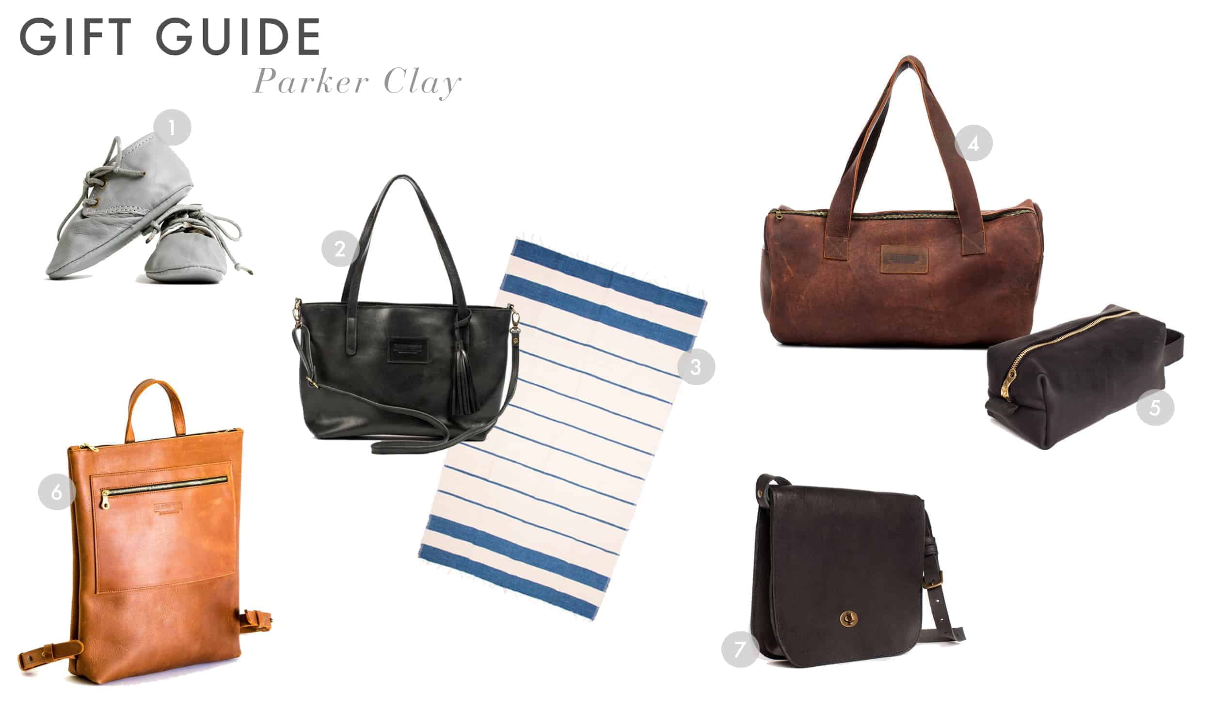Emily Henderson Gift Guide 2017 Holiday Christmas B Corp Socially Concious Parker Clay