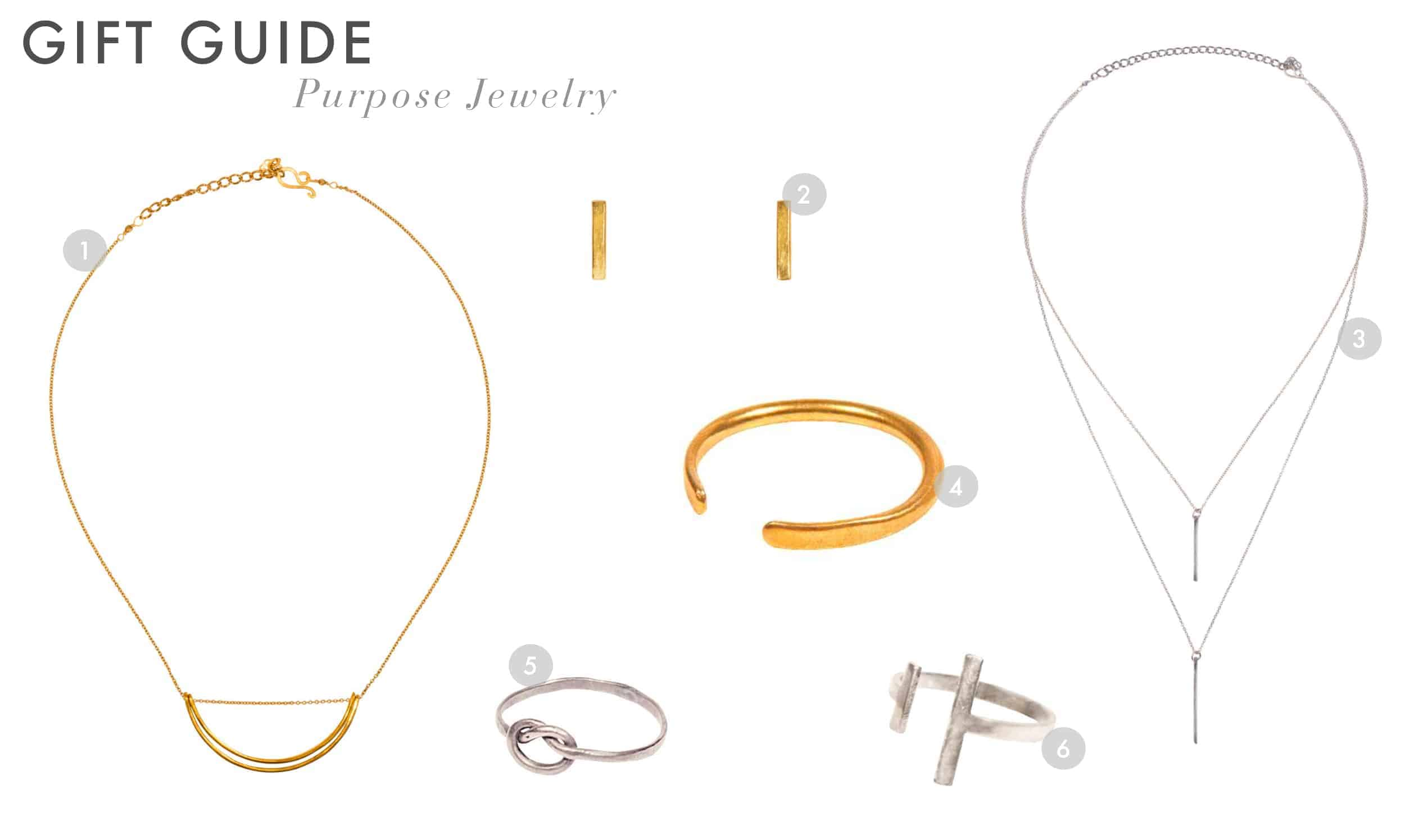 Emily Henderson Gift Guide 2017 Holiday Christmas B Corp Socially Concious Purpose Jewelry