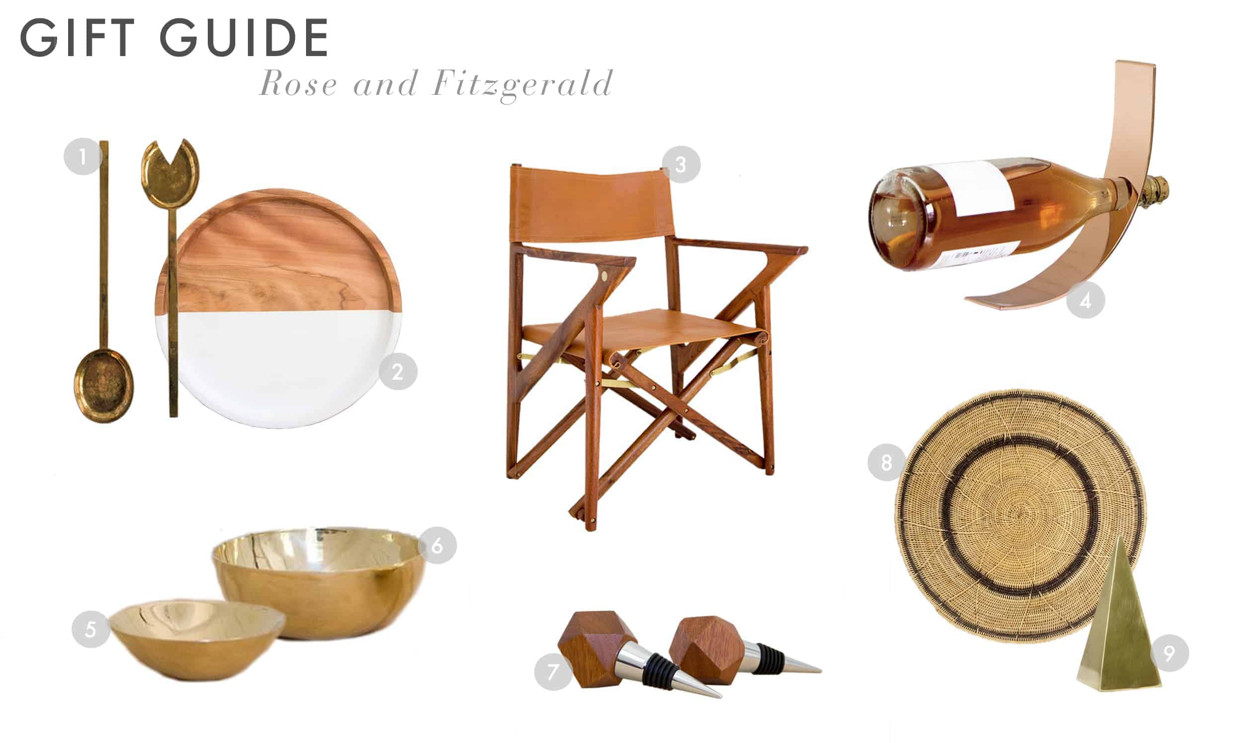Emily Henderson Gift Guide 2017 Holiday Christmas B Corp Socially Concious Rose And Fitzgerald 01