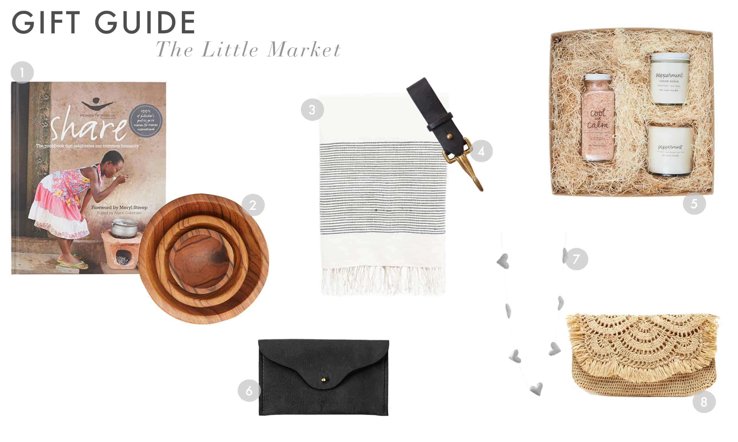 Emily Henderson Gift Guide 2017 Holiday Christmas B Corp Socially Concious The Little Market