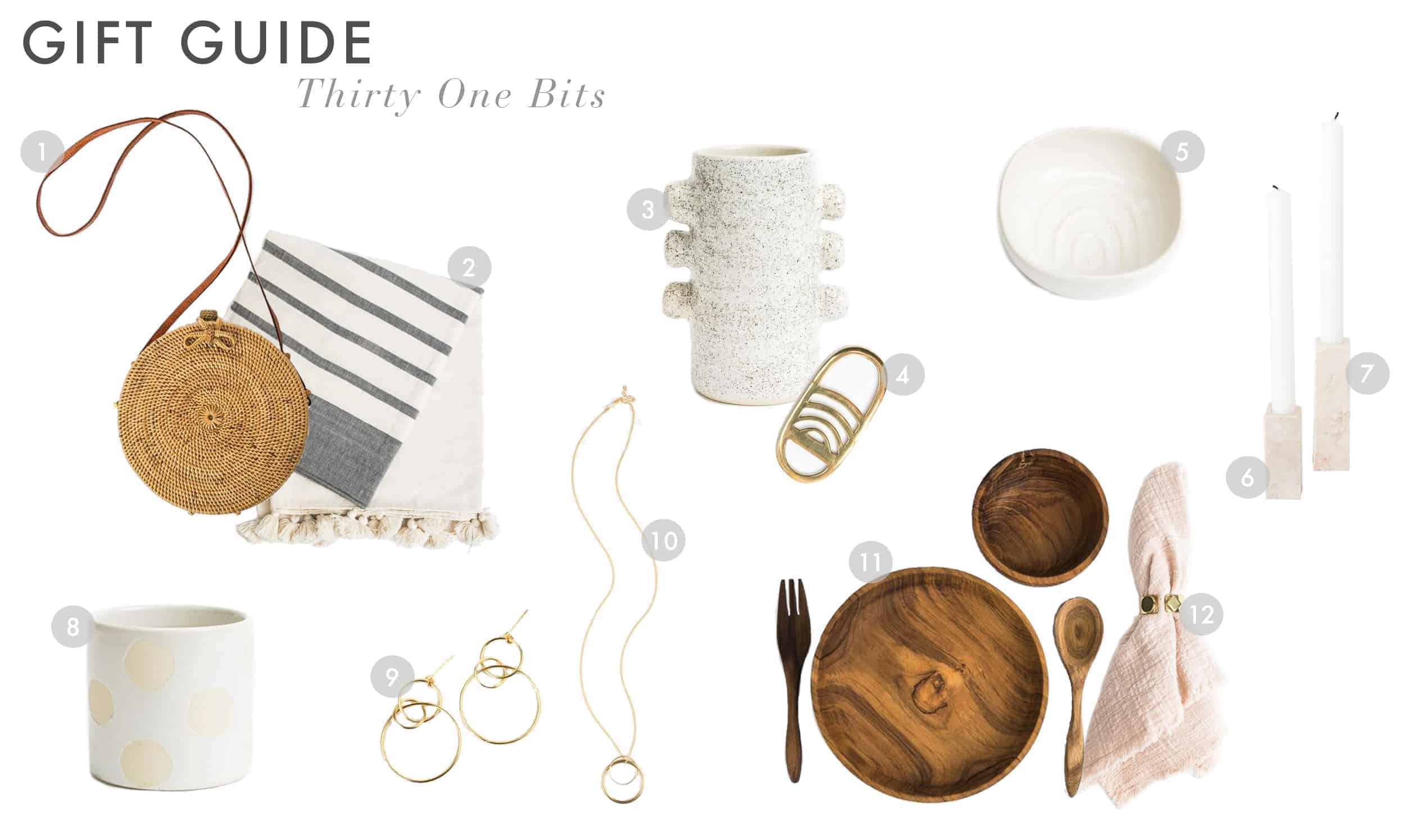 Emily Henderson Gift Guide 2017 Holiday Christmas B Corp Socially Concious Thirty One Bits