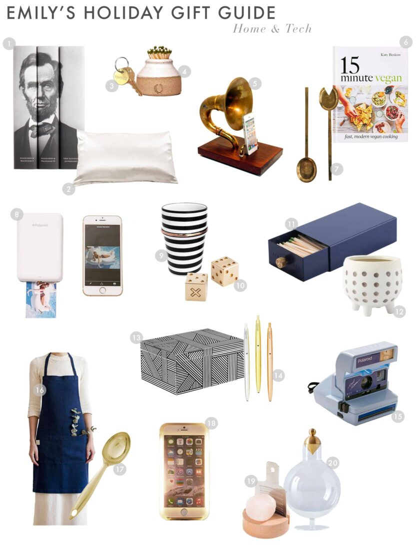 Emily Henderson Gift Guide 2017 Holiday Christmas Home Fashion Beauty Guide Hometech 1