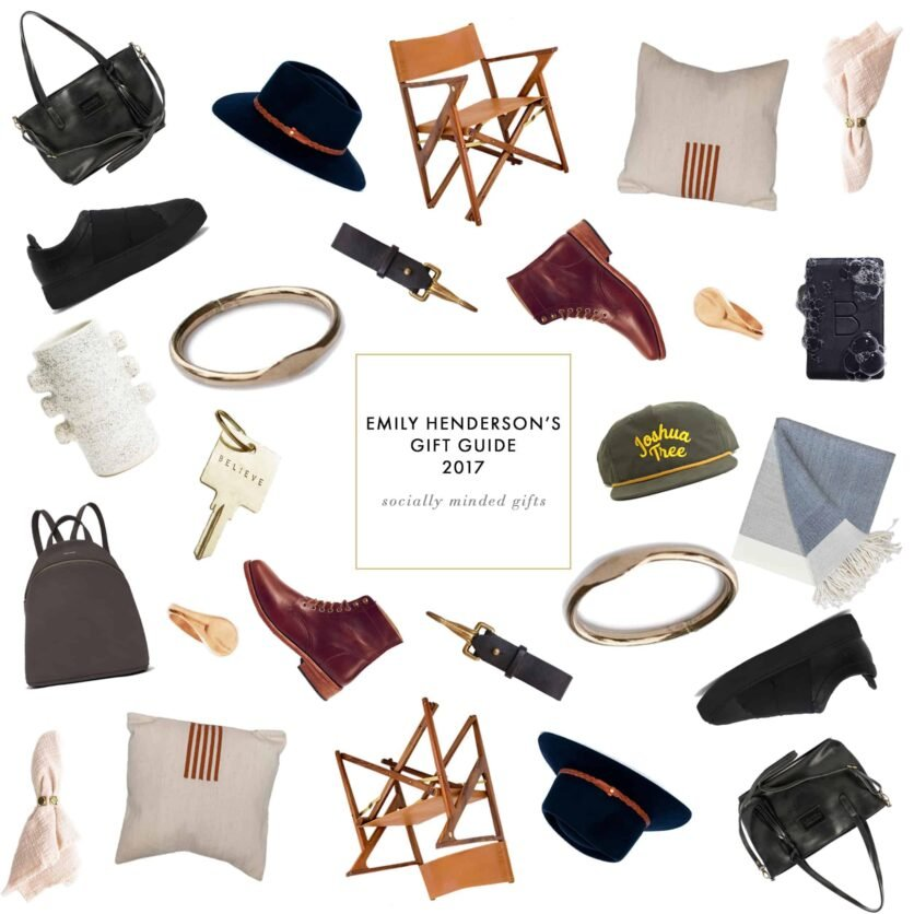 Emily Henderson Gift Guide Holiday Socially Conscious Gifts Header 1