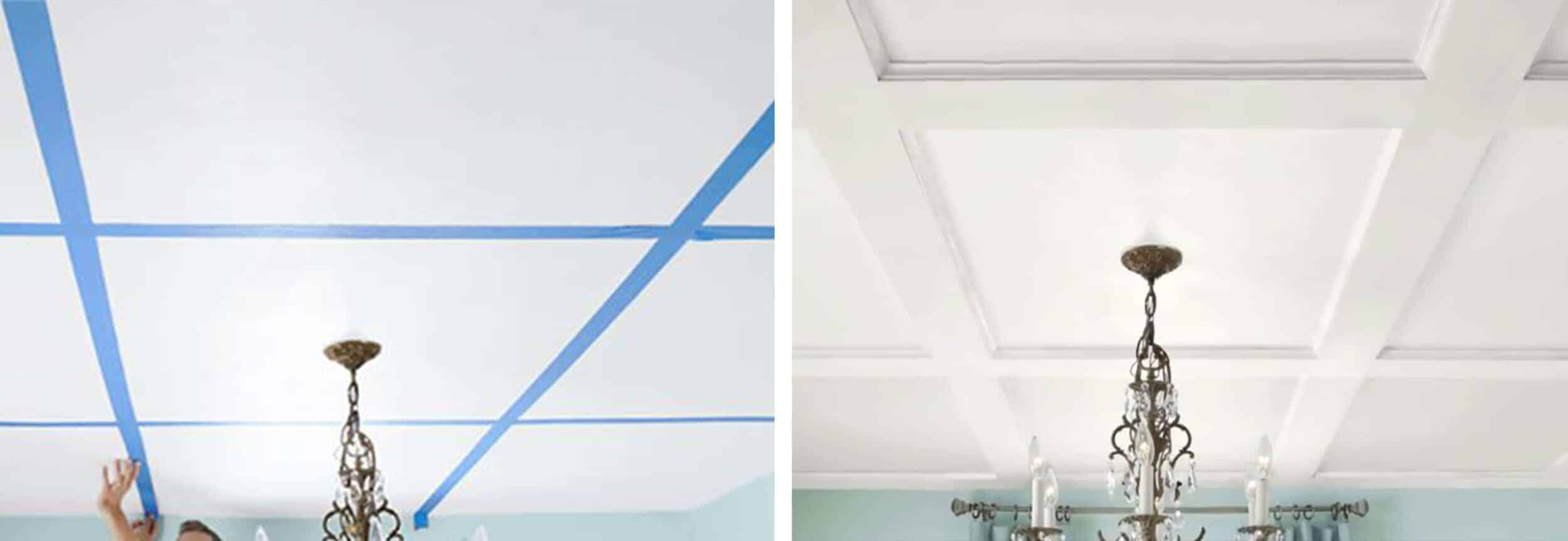 Emily Henderson How To Add Character To Ceilings Diy How To Strip Moulding