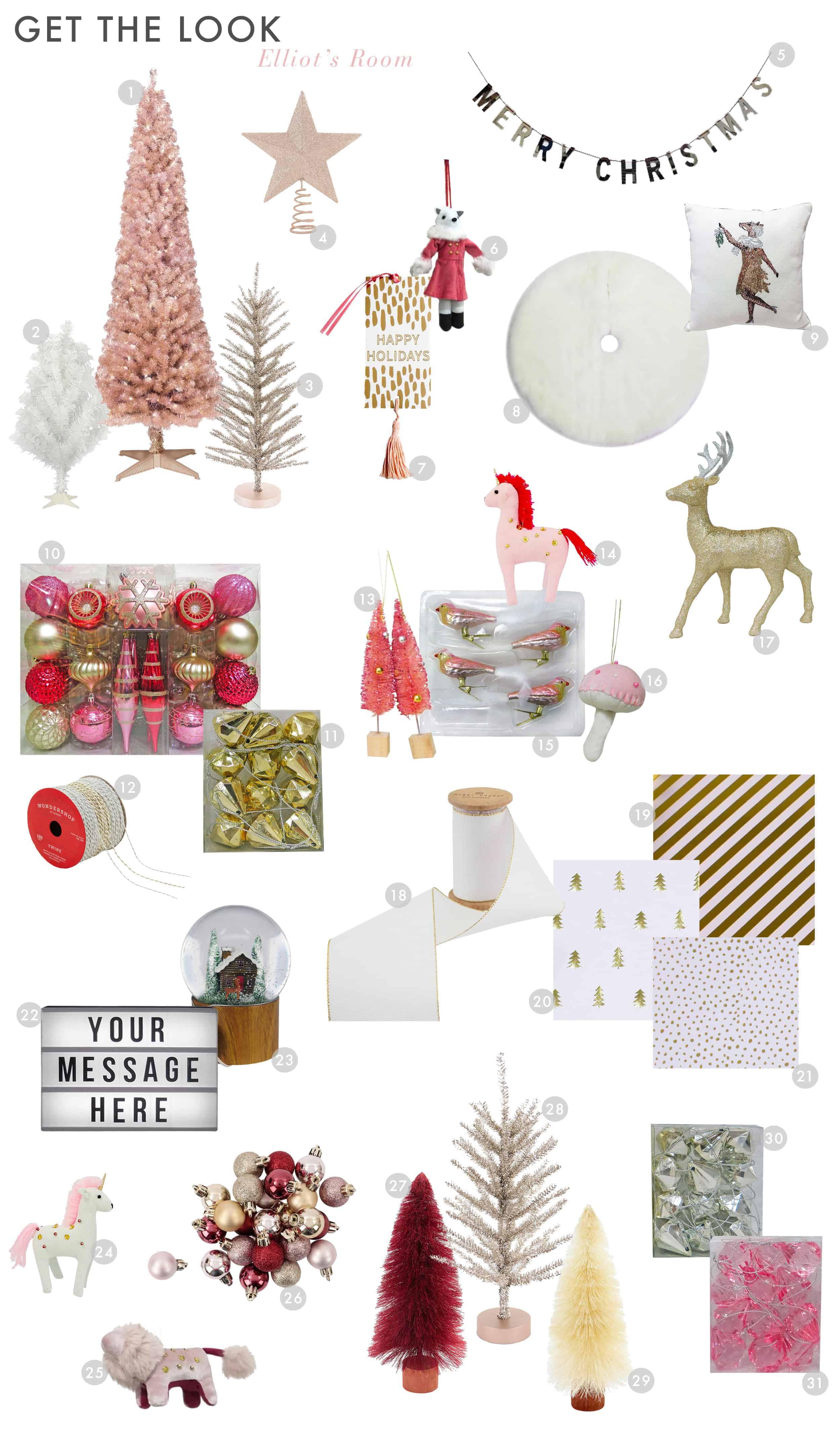 Emily Henderson Target Holiday Christmas 2017 English Tudor Modern Kids Decor Elliots Room Get The Look1
