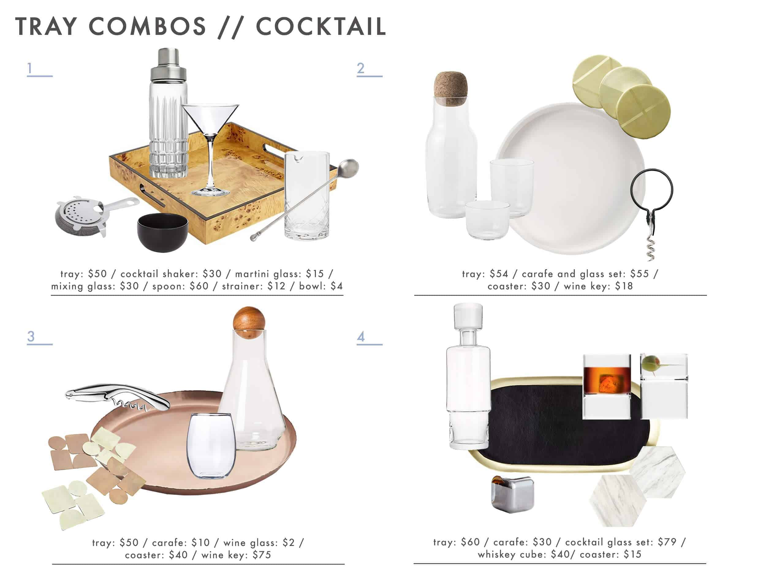 Emily Henderson Tray Combos Roundup Cocktail 1