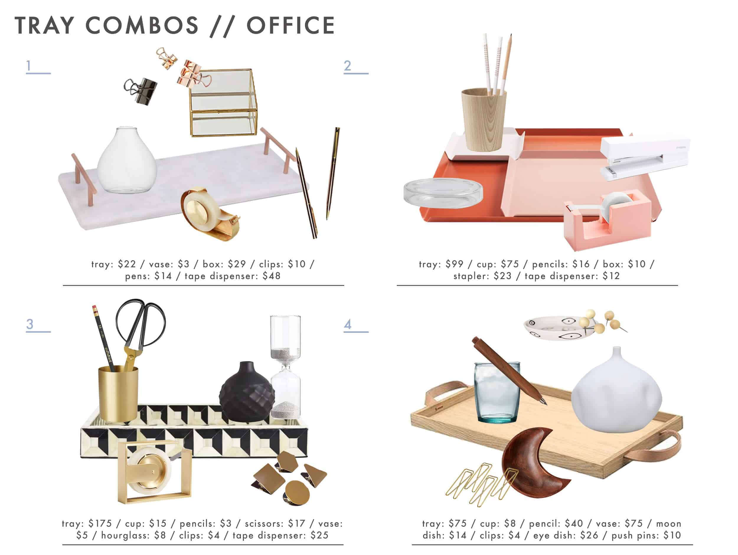 Emily Henderson Tray Combos Roundup Office 1