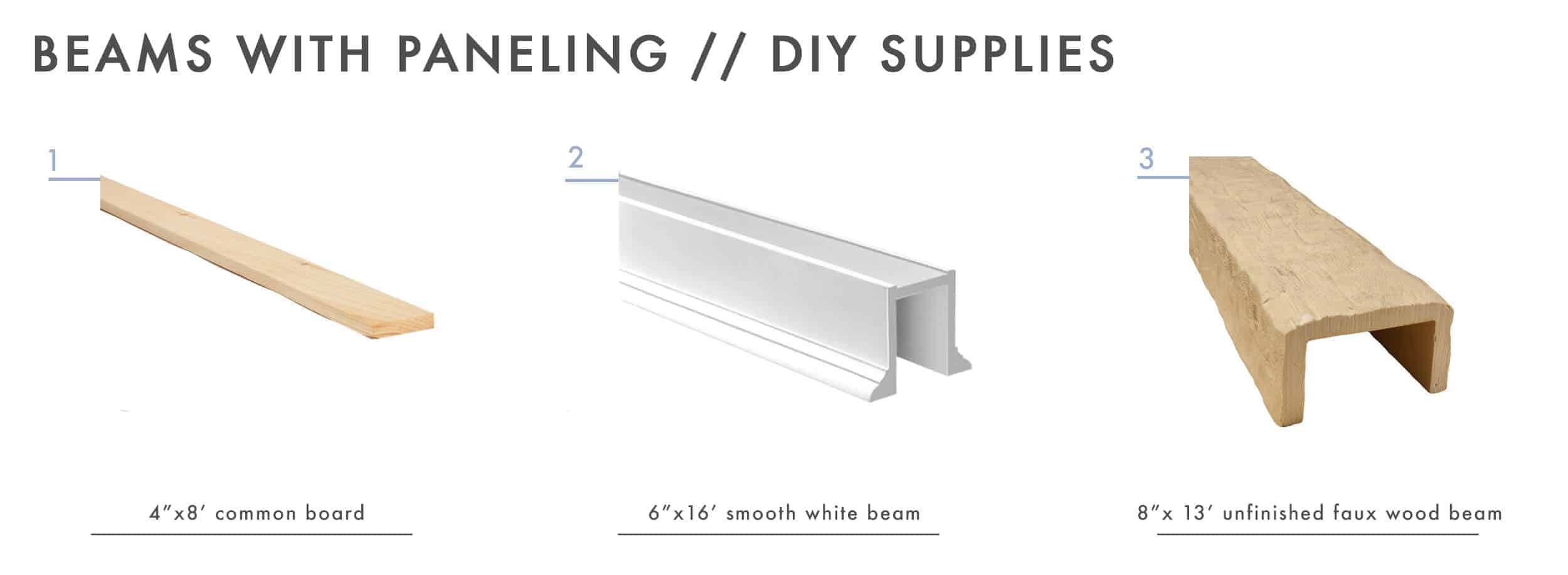 How To Add Character And Charm To Boring Architecture And Houses Ceiling Beams With Paneling Diy Supplies