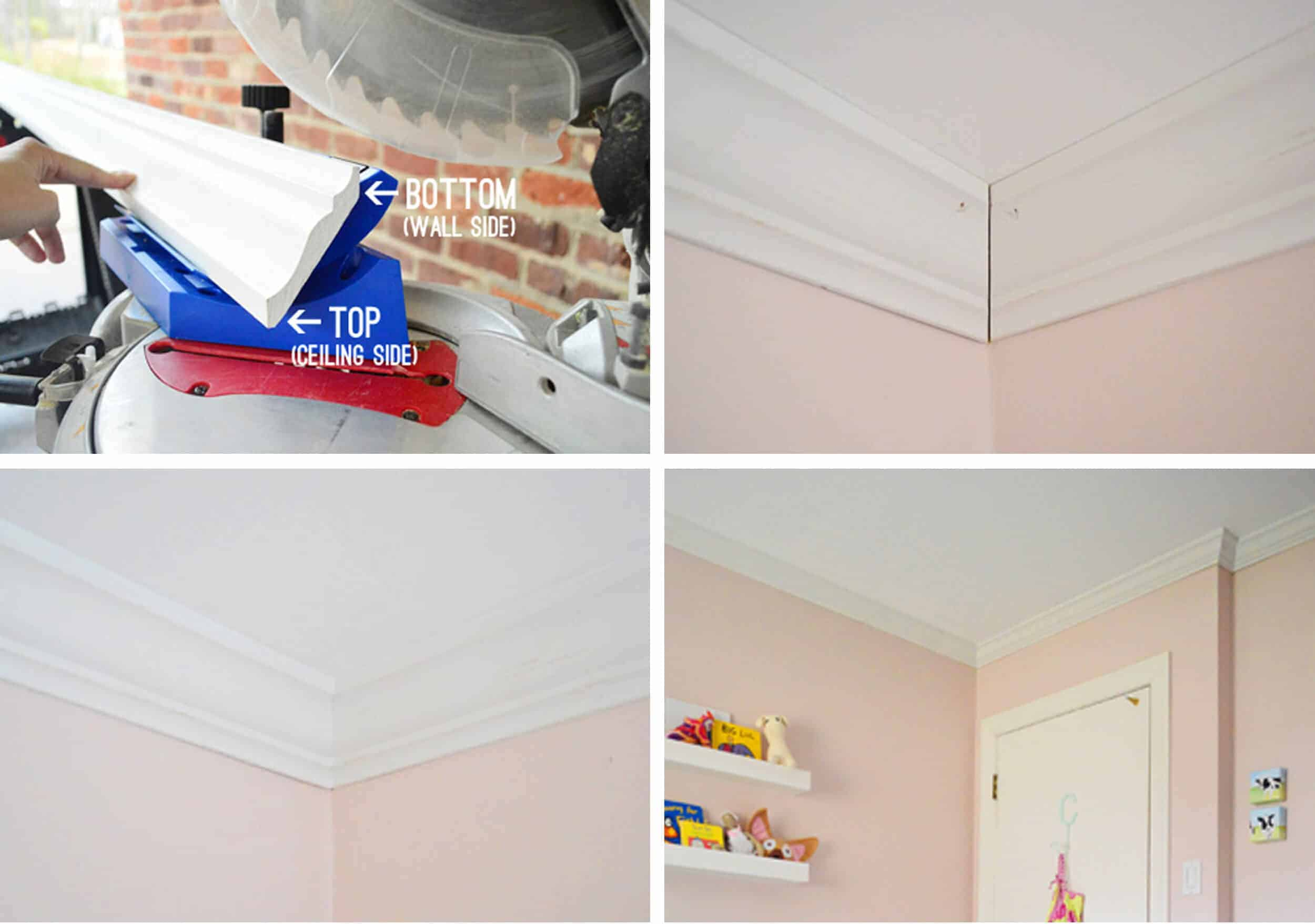 How To Add Character And Charm To Boring Architecture And Houses Ceiling Traditional Crown Moulding Diy