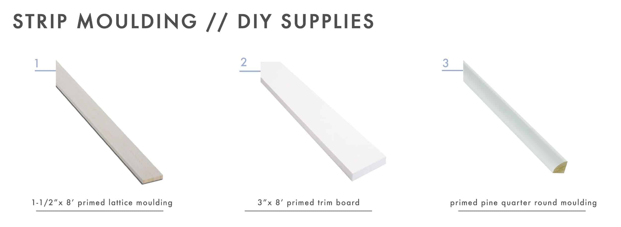 How To Add Character And Charm To Boring Architecture And Houses Ceiling Strip Moulding Diy Supplies