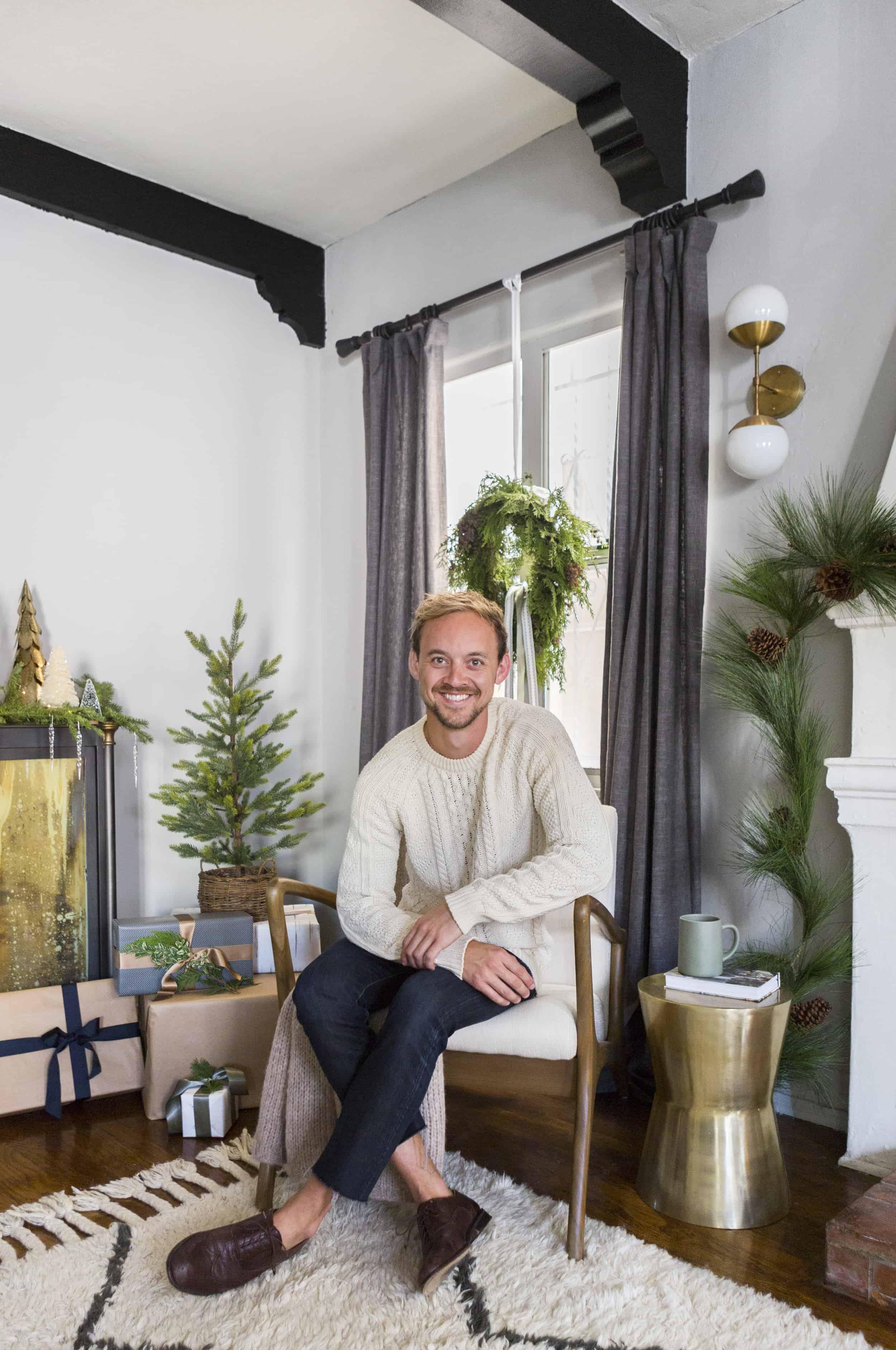 Brady Tolbert Christmas 2017 Emily Henderson Design 16