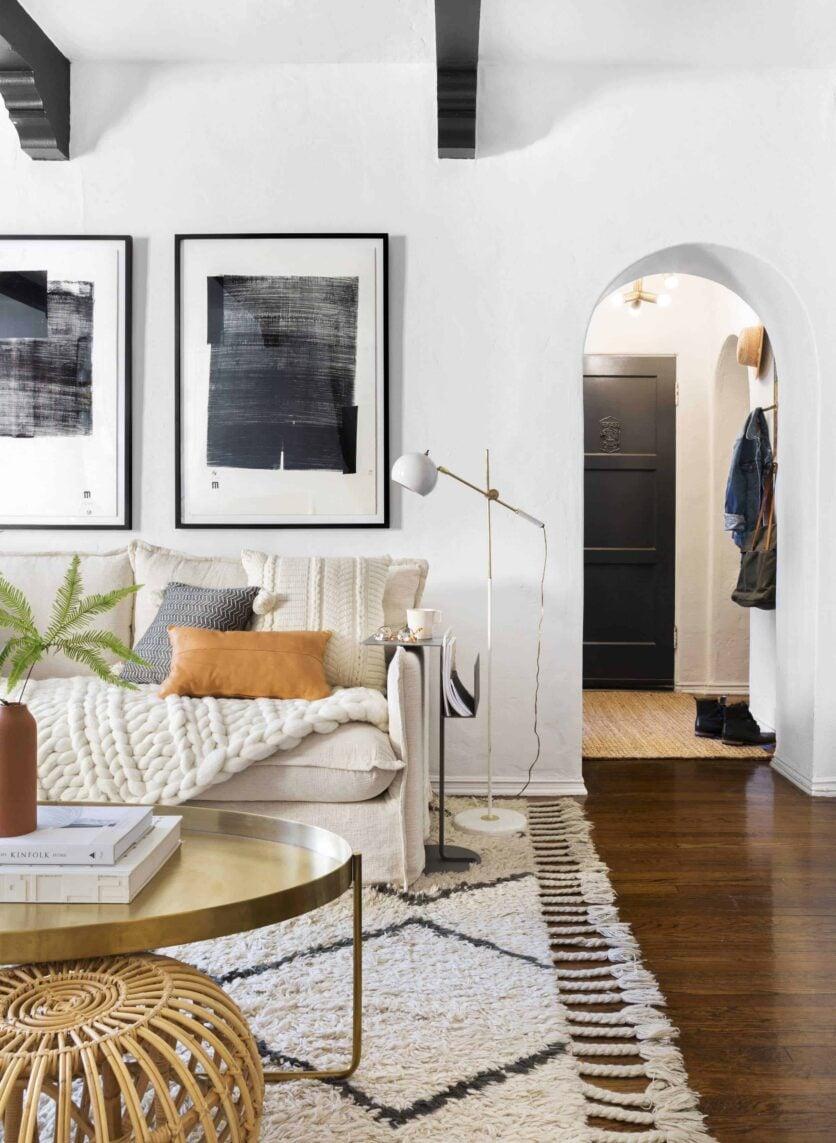 Brady Tolbert Citizenry Emily Henderson Living Room Refresh 1