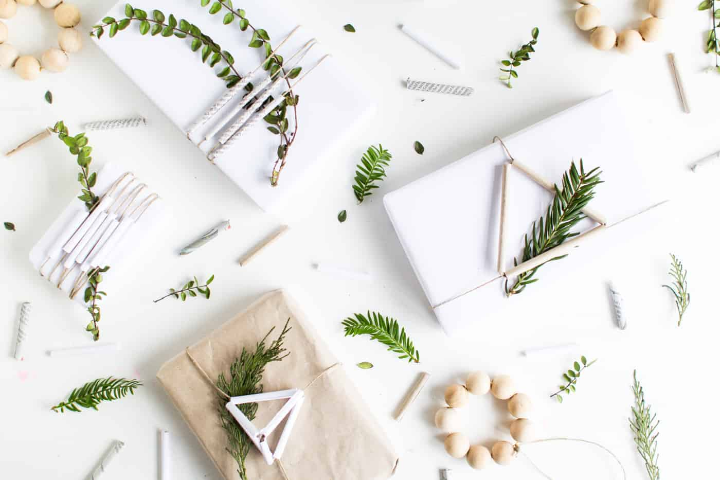 Diy Paper Straw Gift Wrap Toppers @fallfordiy 13