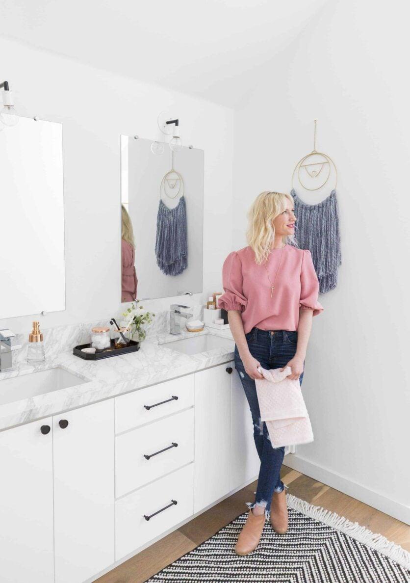 Emily Henderson Target Master Bedroom Bathroom Makeover 11