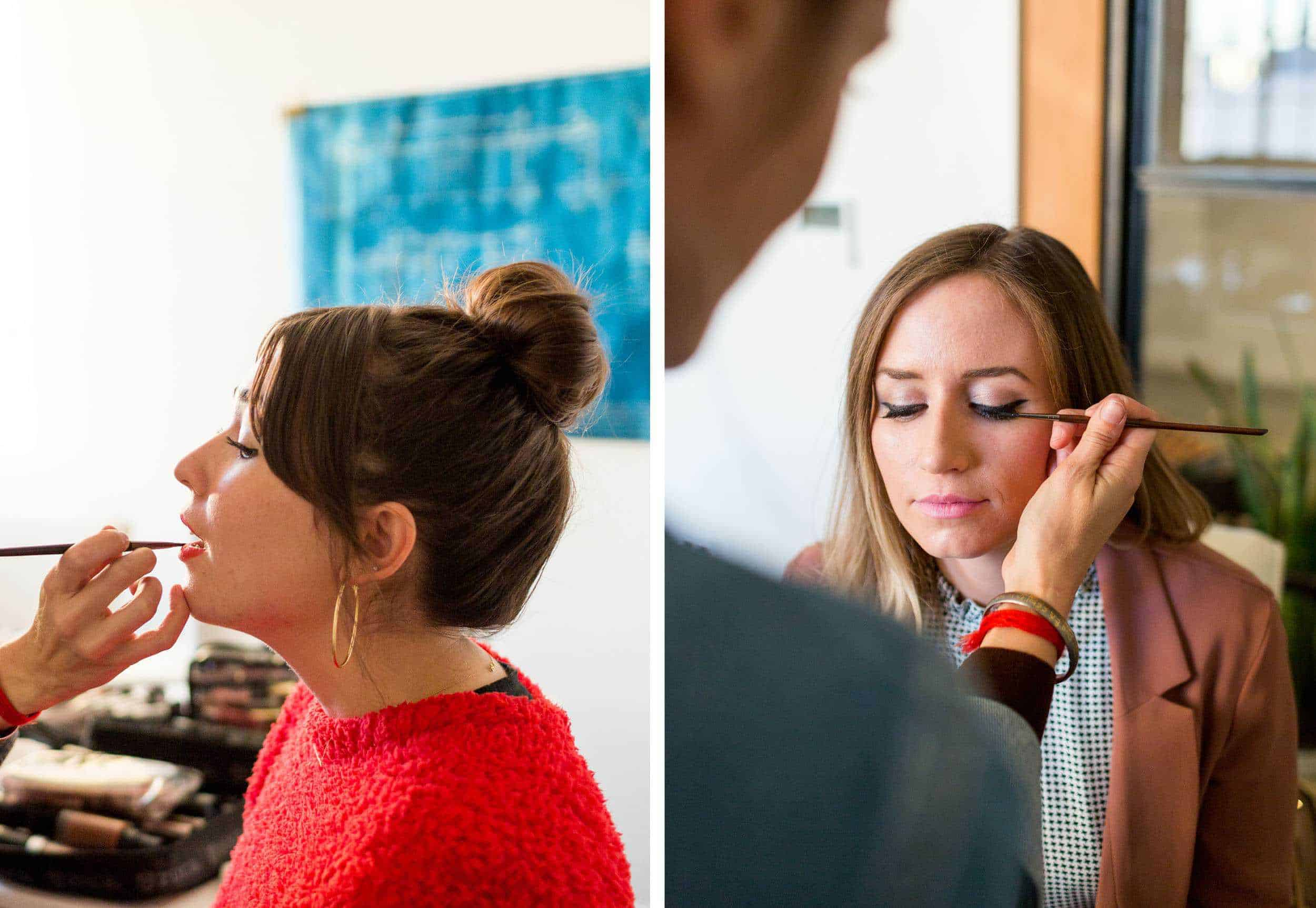Emily Henderson Ebay Fashion Ehd Team Makeup Side By Side