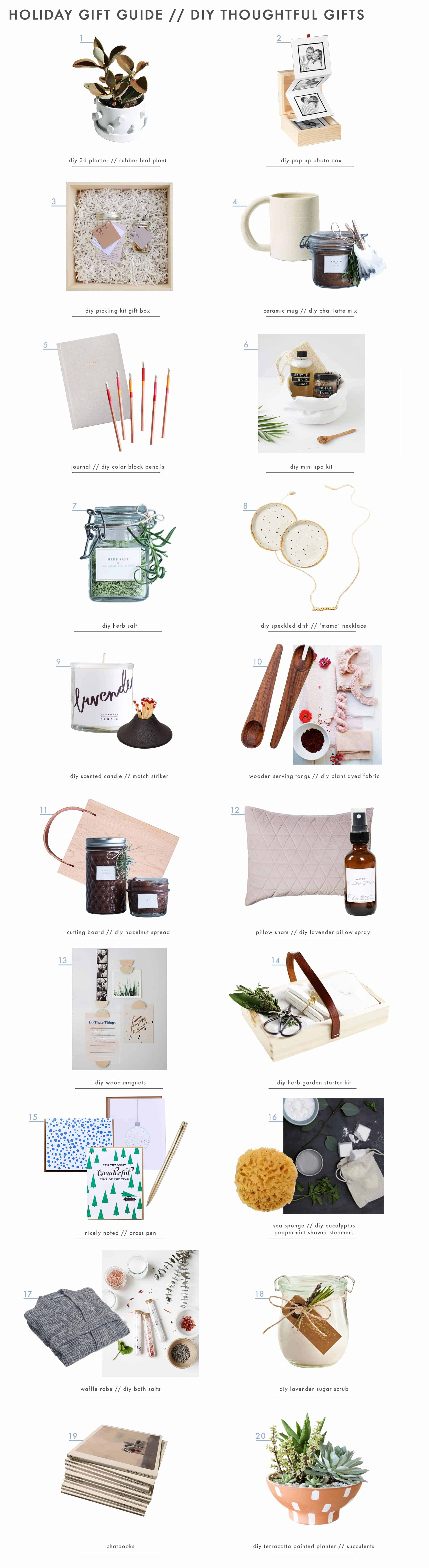 Emily Henderson Gift Guide Diy Thoughtful Gifts Grid Get The Look 01