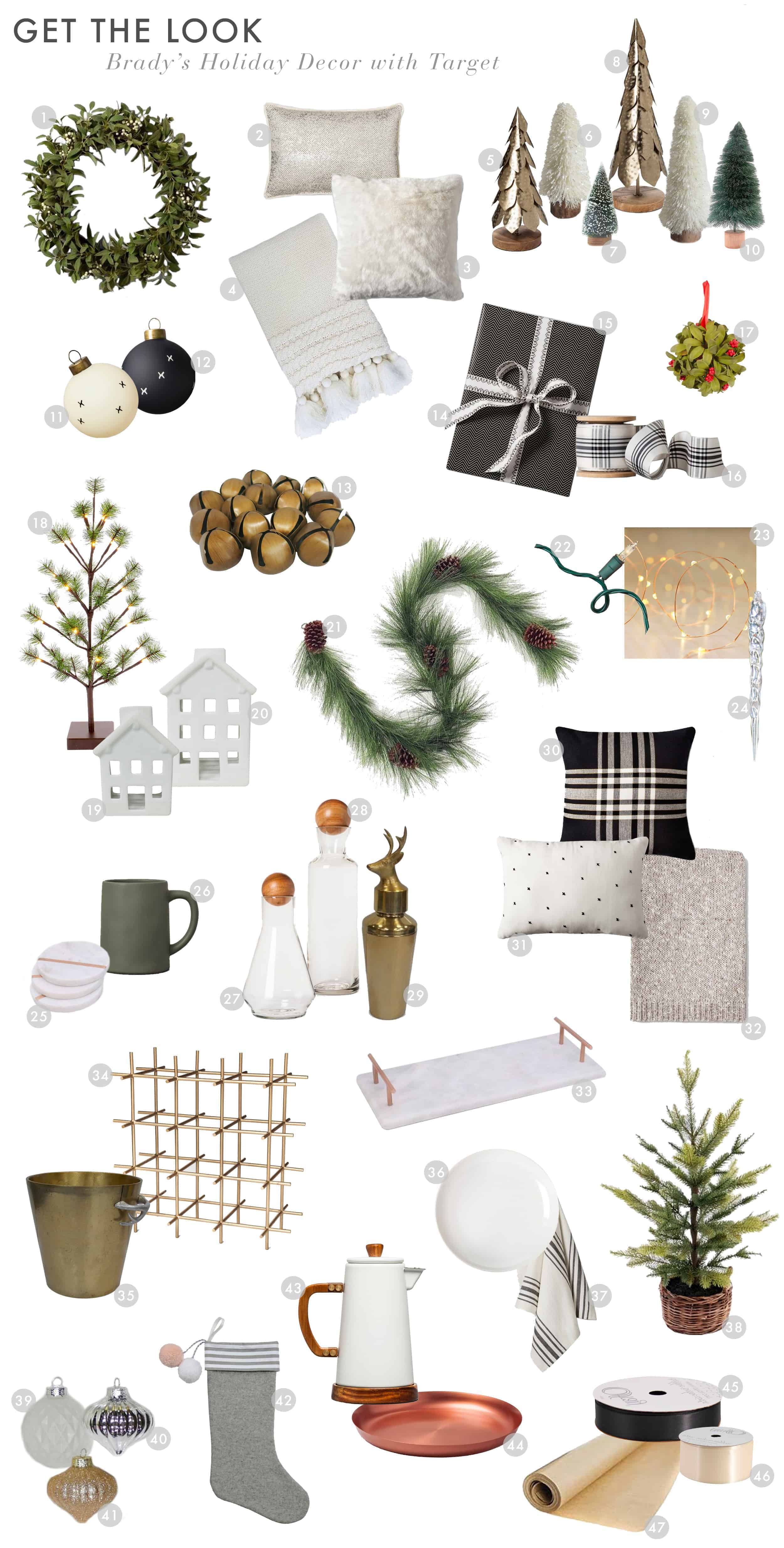 Emily Henderson Target Holiday Christmas 2017 Holiday Decor Bradys Home Get The Look 01