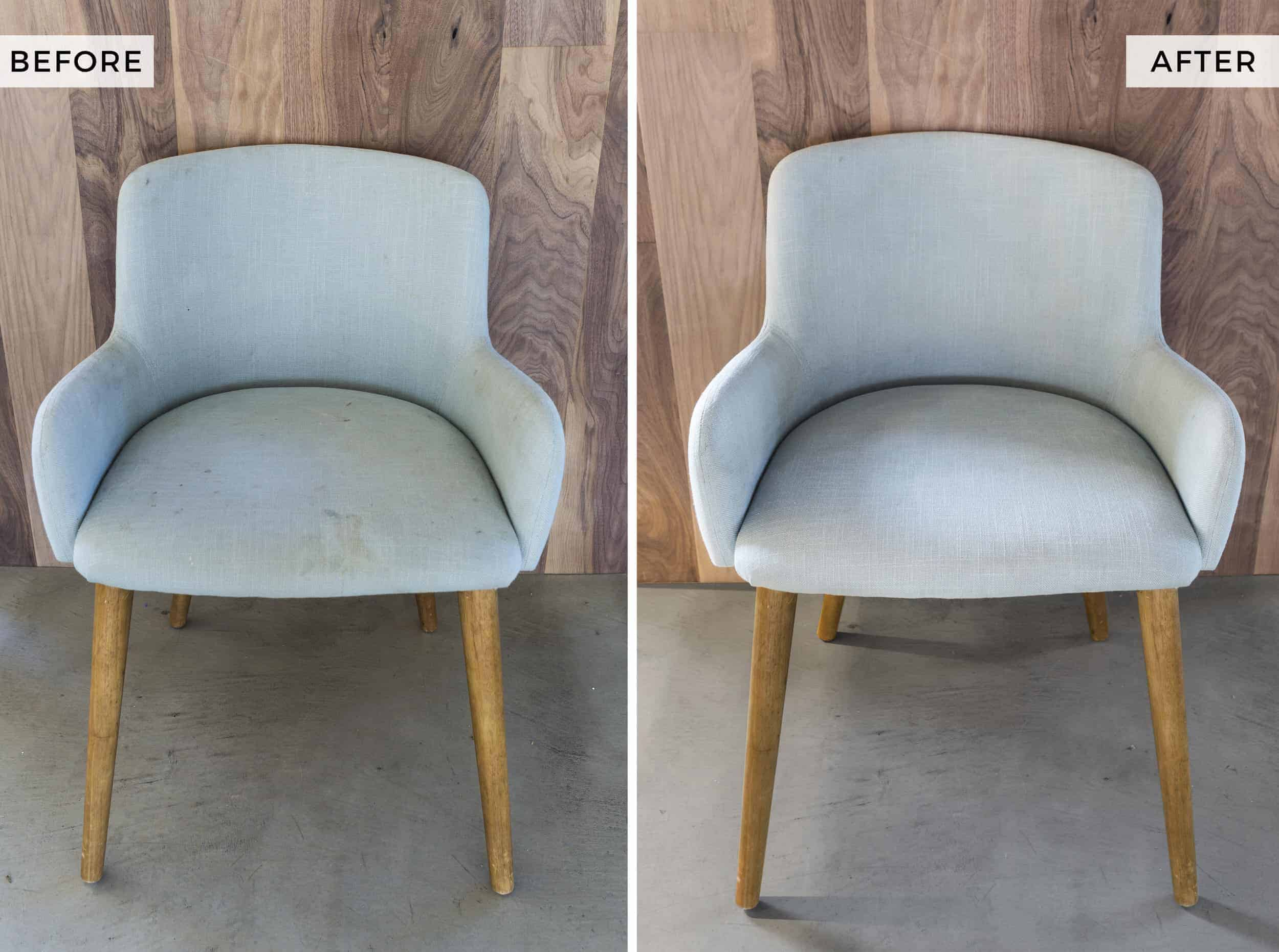 Crypton Chair Before After