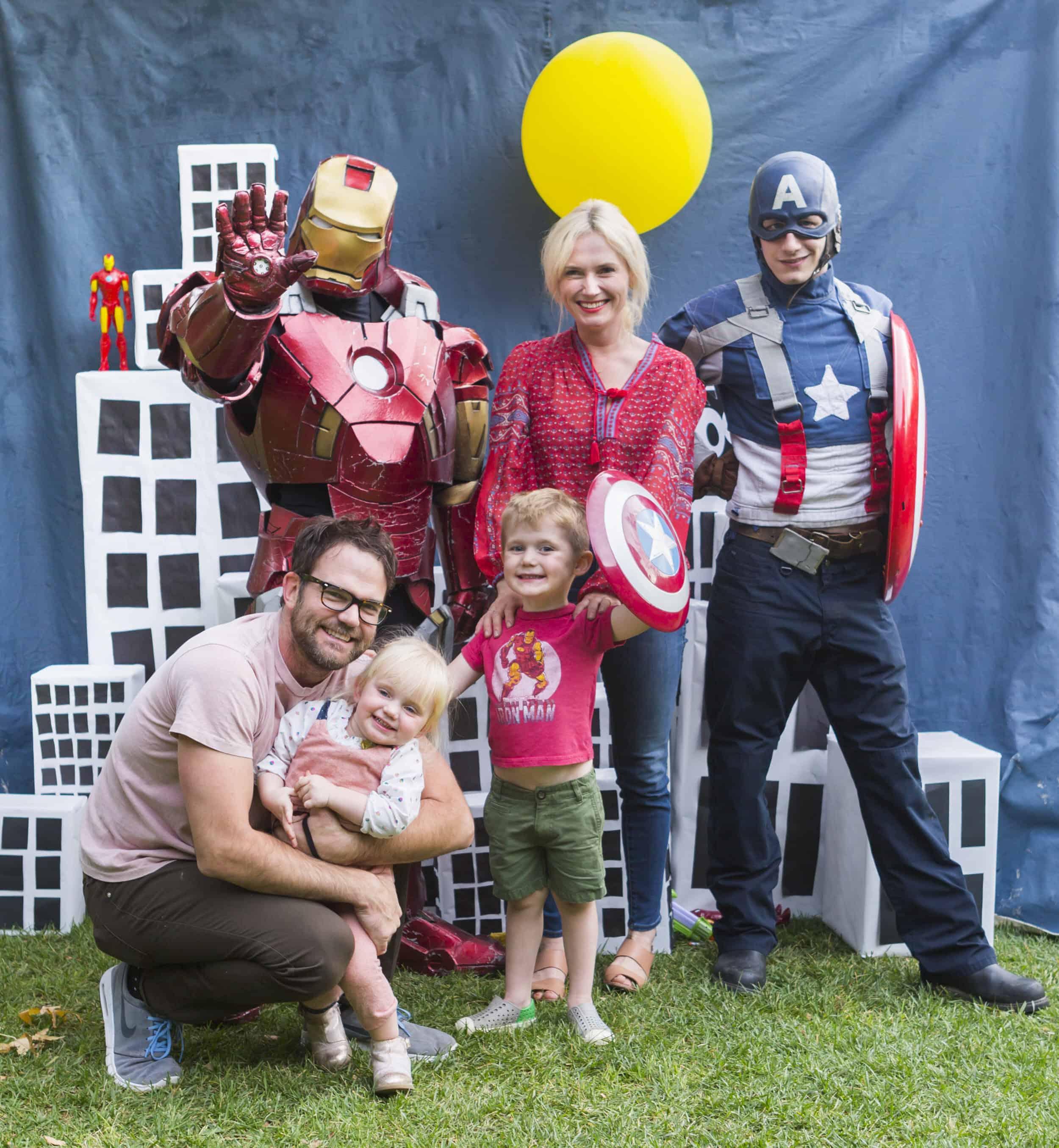 Emily Henderson Charlies Kids Superhero Birthday Party10