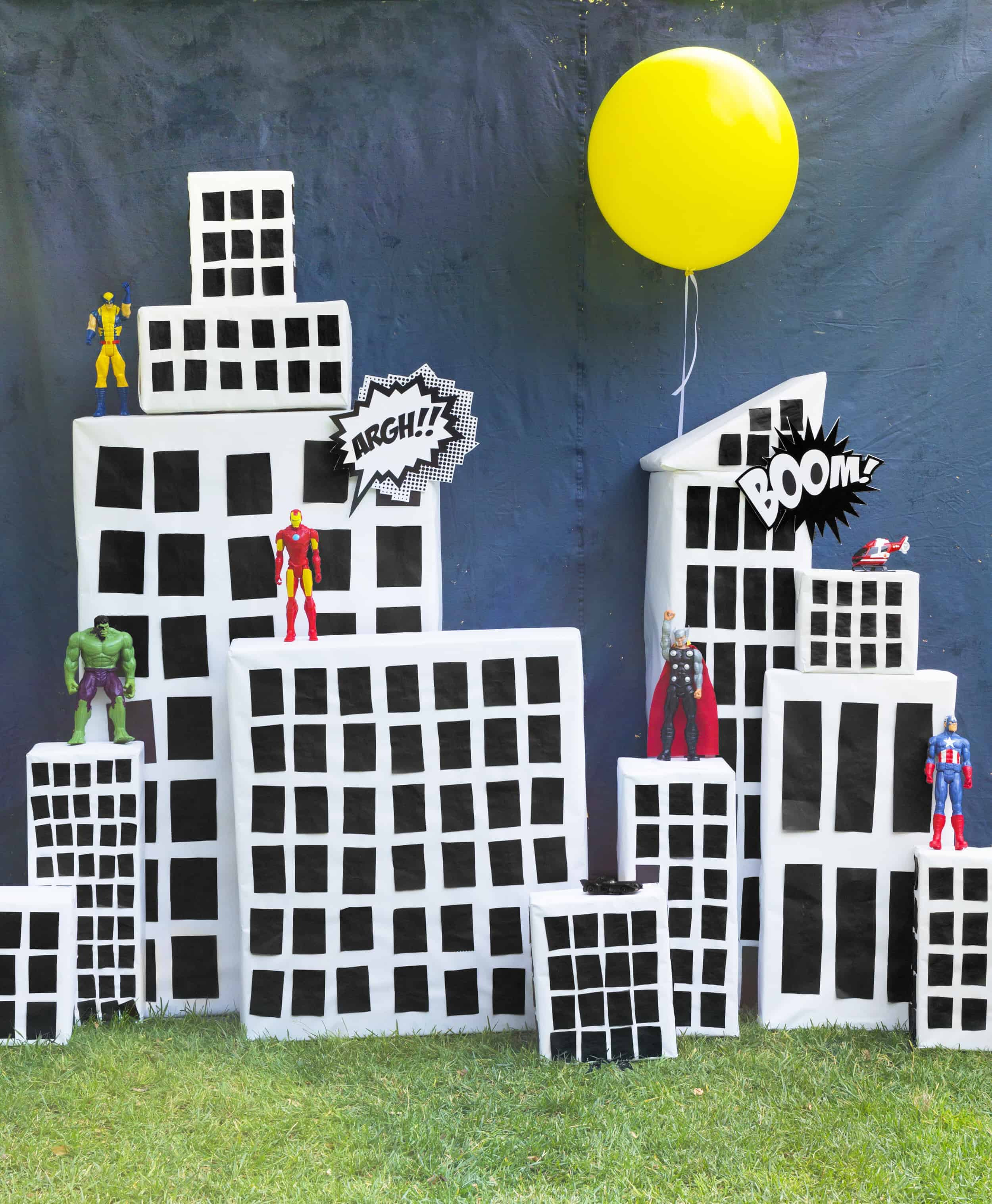 Emily Henderson Charlies Kids Superhero Birthday Party22