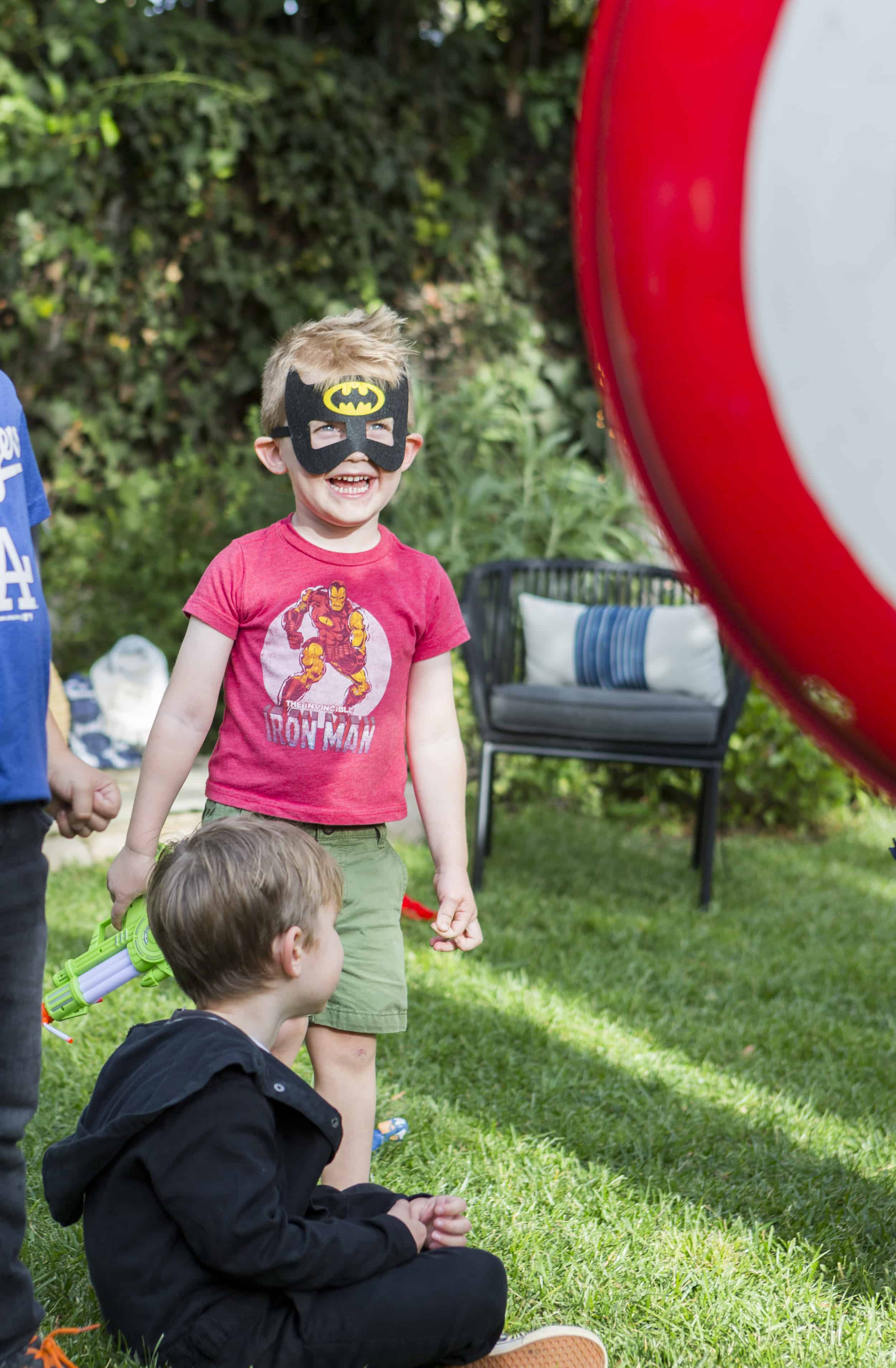 Emily Henderson Charlies Kids Superhero Birthday Party3