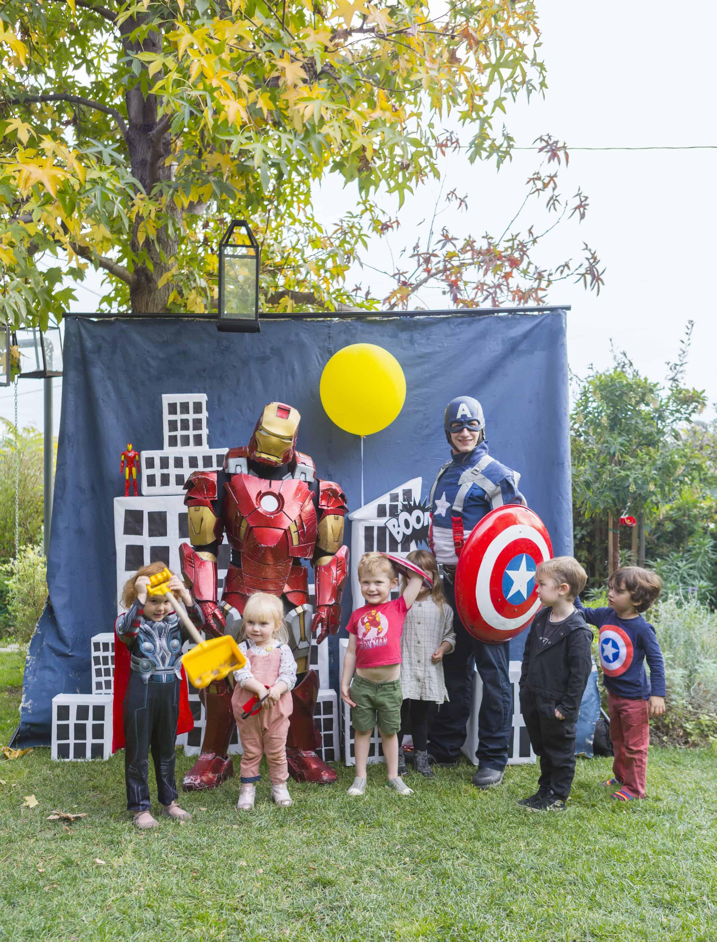 Emily Henderson Charlies Kids Superhero Birthday Party9