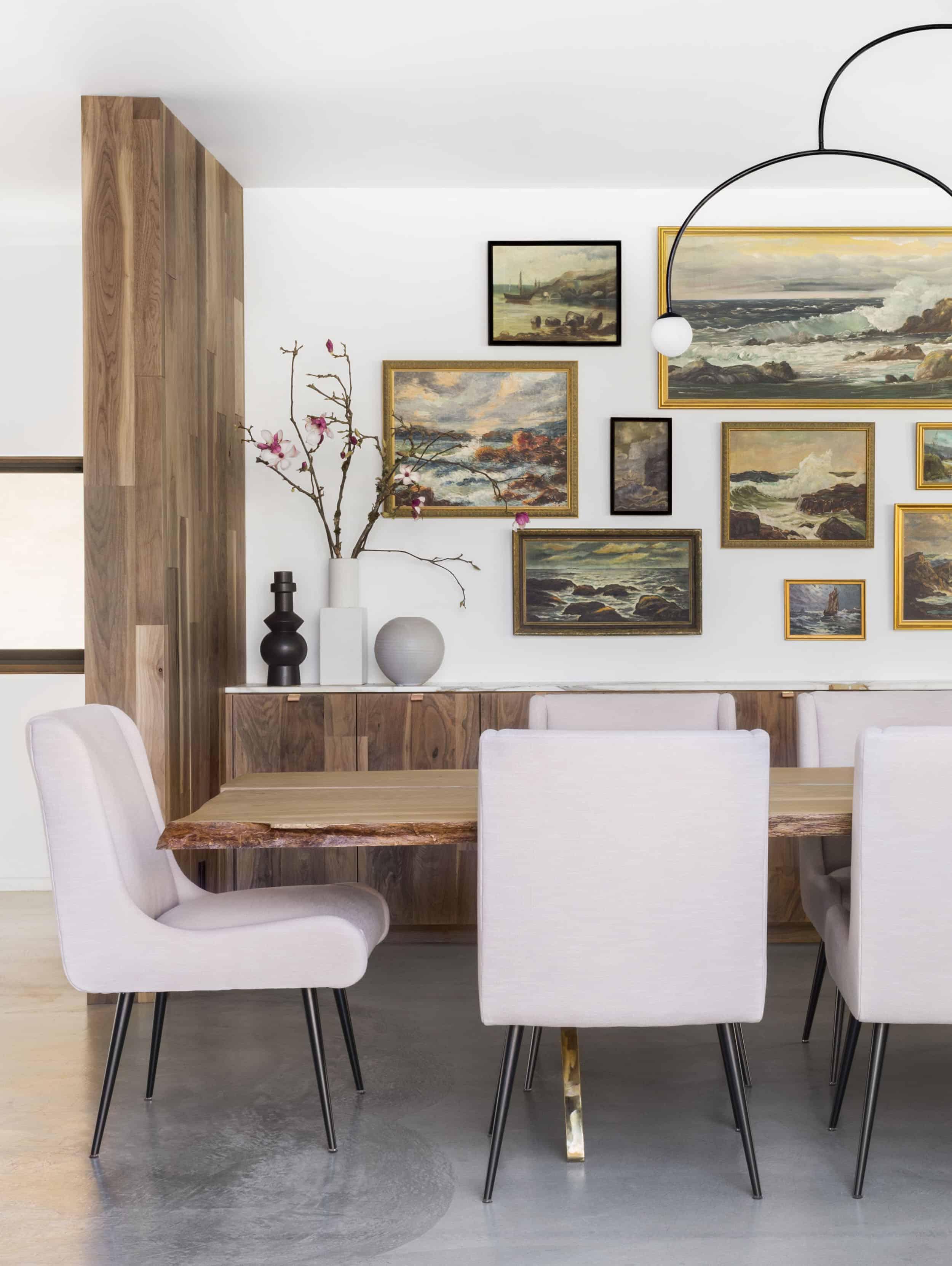 Emily Henderson Corbette Crypton 70s Modern Makeover Dining Room 1