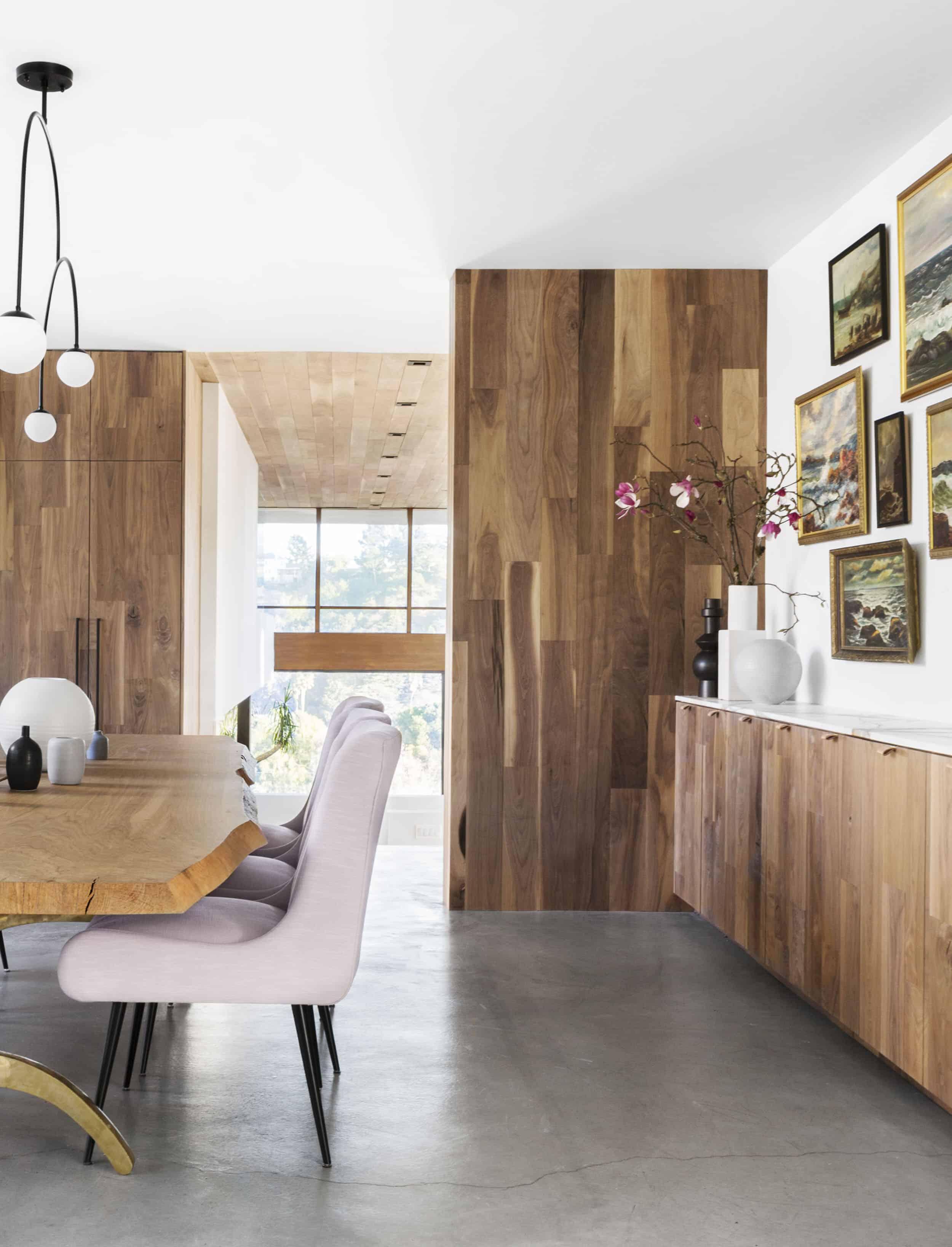 Emily Henderson Corbette Crypton 70s Modern Makeover Dining Room 10
