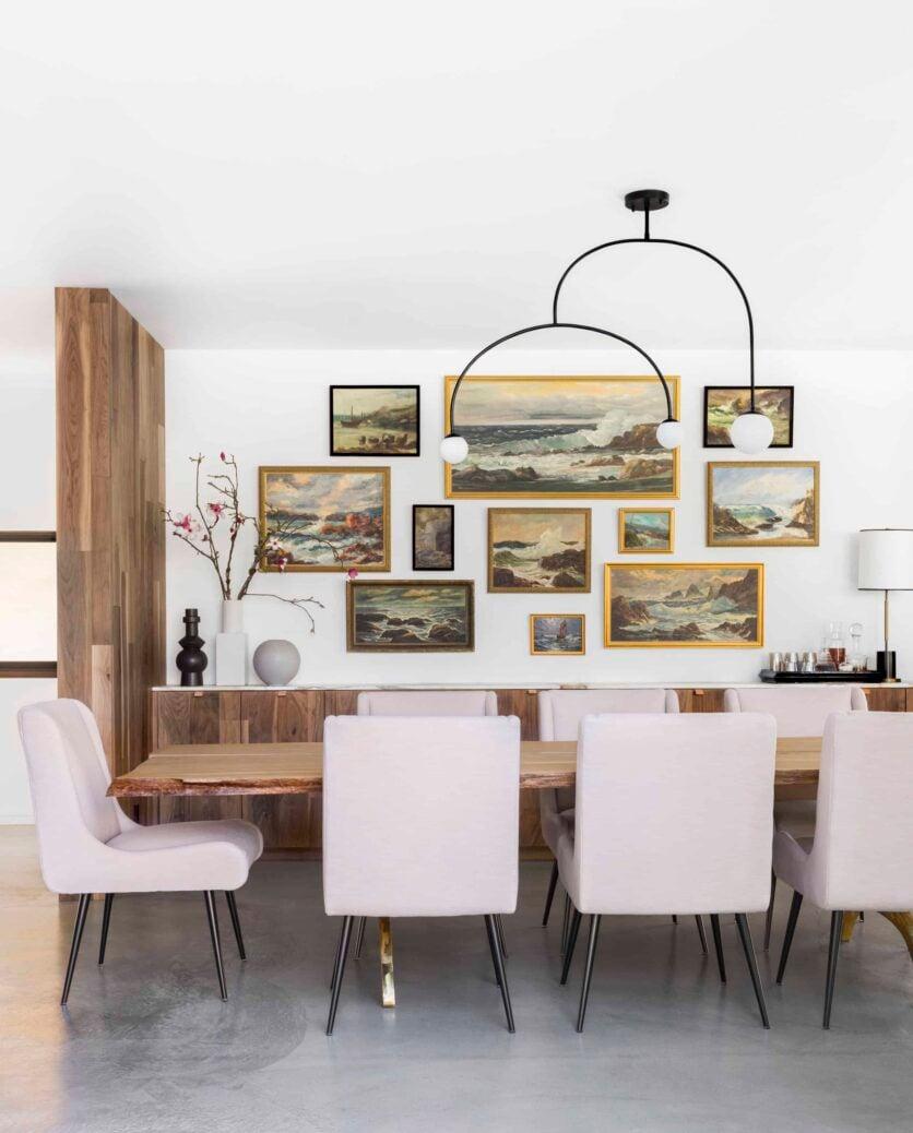 Emily Henderson Corbette Crypton 70s Modern Makeover Dining Room 12