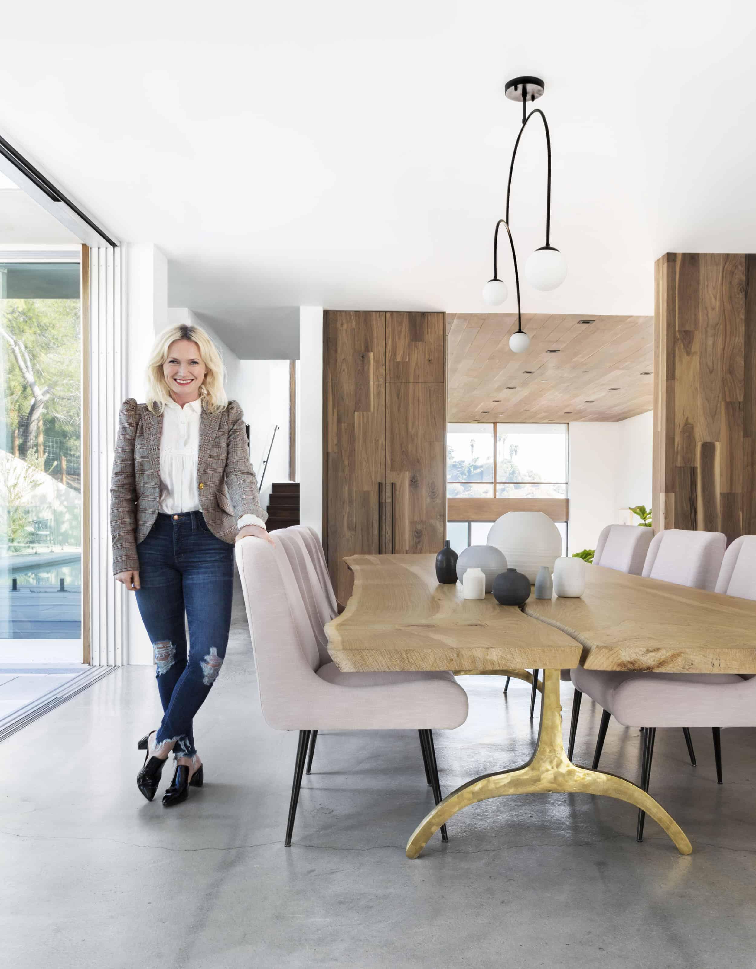 Emily Henderson Corbette Crypton 70s Modern Makeover Dining Room 13