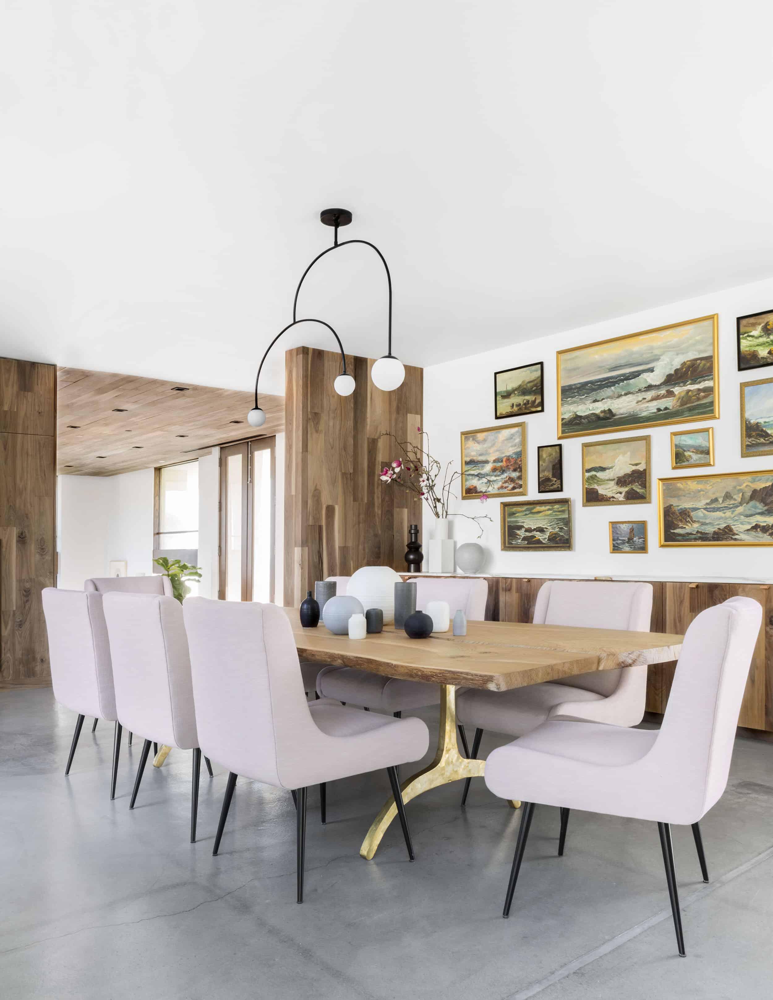Emily Henderson Corbette Crypton 70s Modern Makeover Dining Room 2
