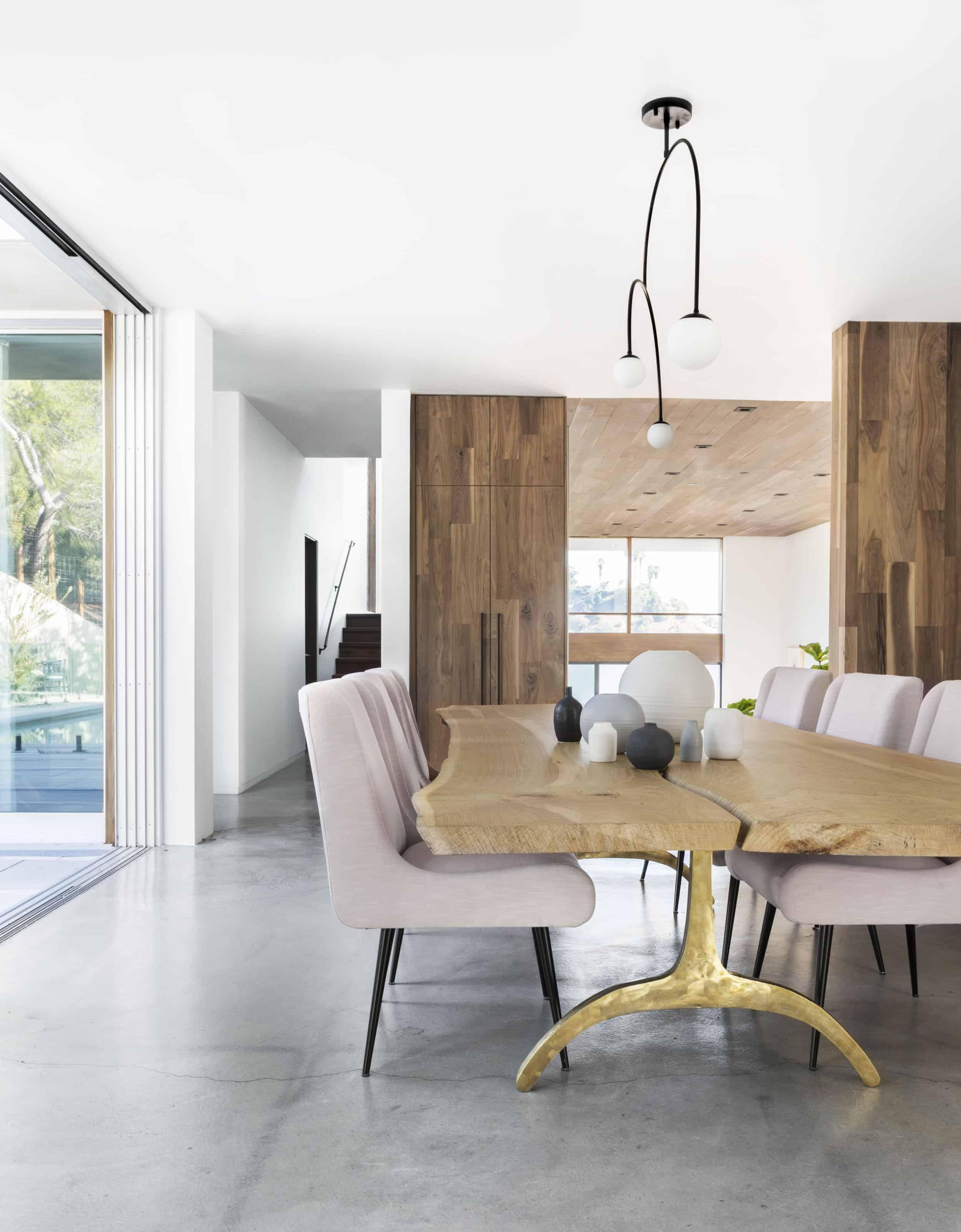 Emily Henderson Corbette Crypton 70s Modern Makeover Dining Room 3
