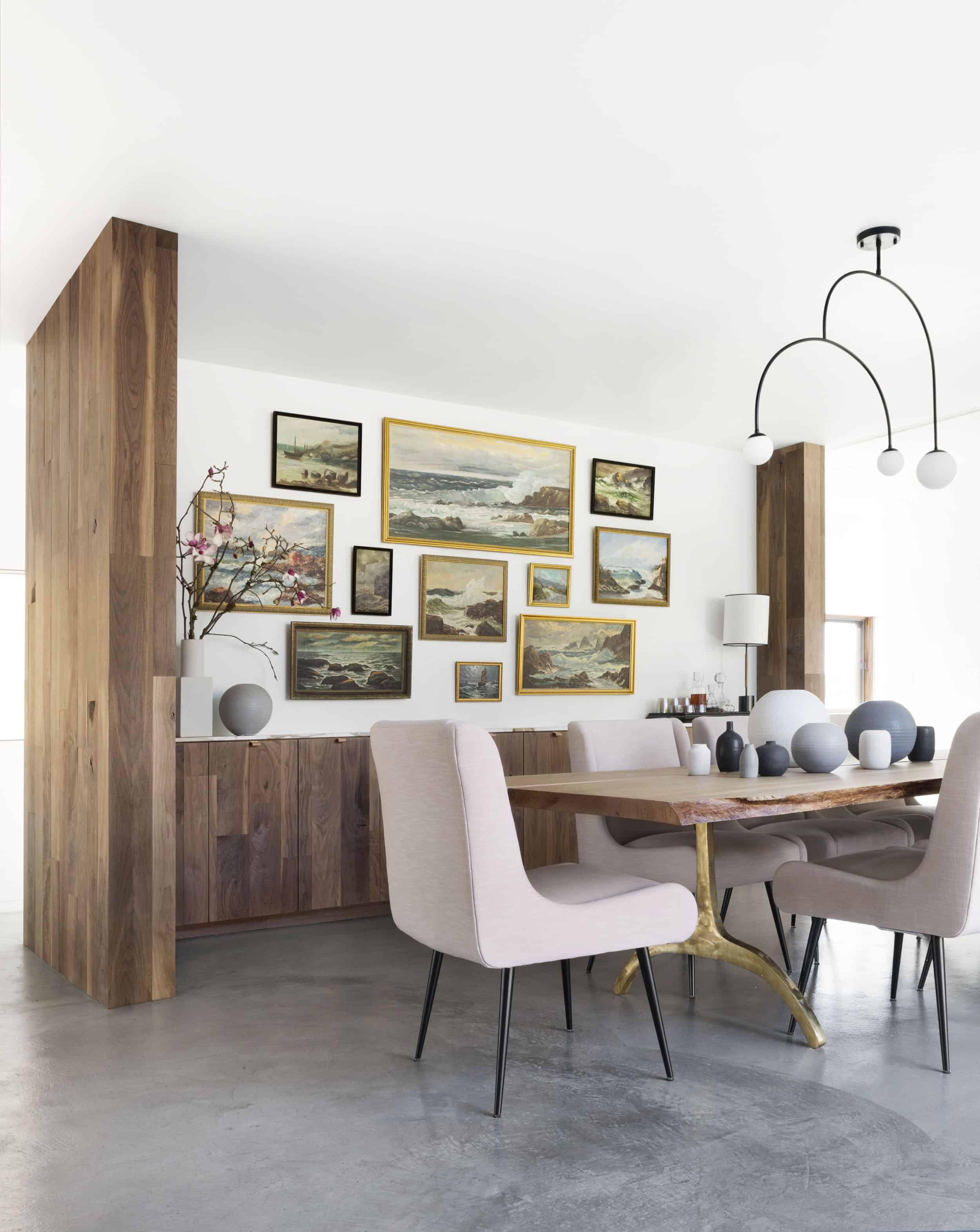 Emily Henderson Corbette Crypton 70s Modern Makeover Dining Room 4