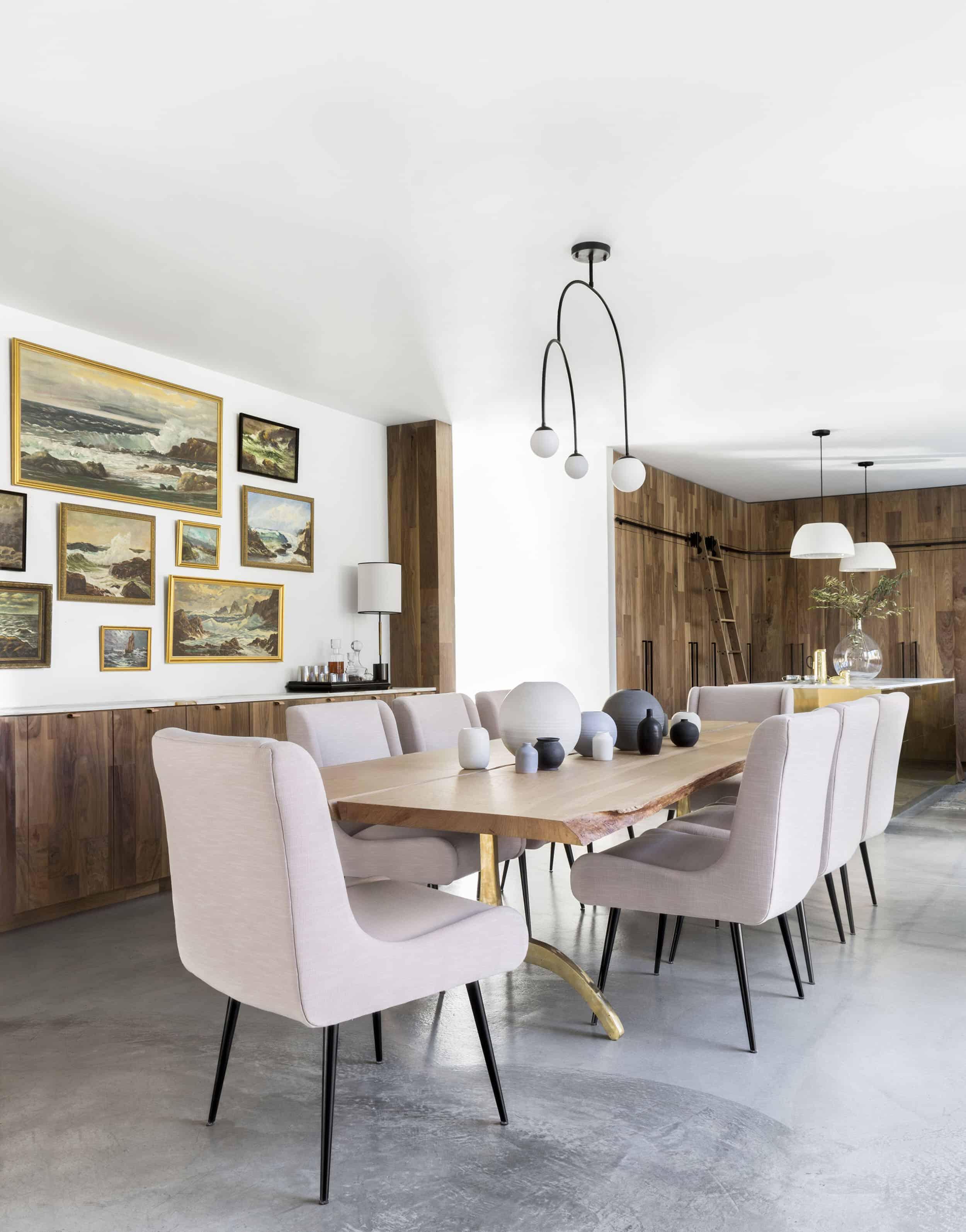 Emily Henderson Corbette Crypton 70s Modern Makeover Dining Room 5