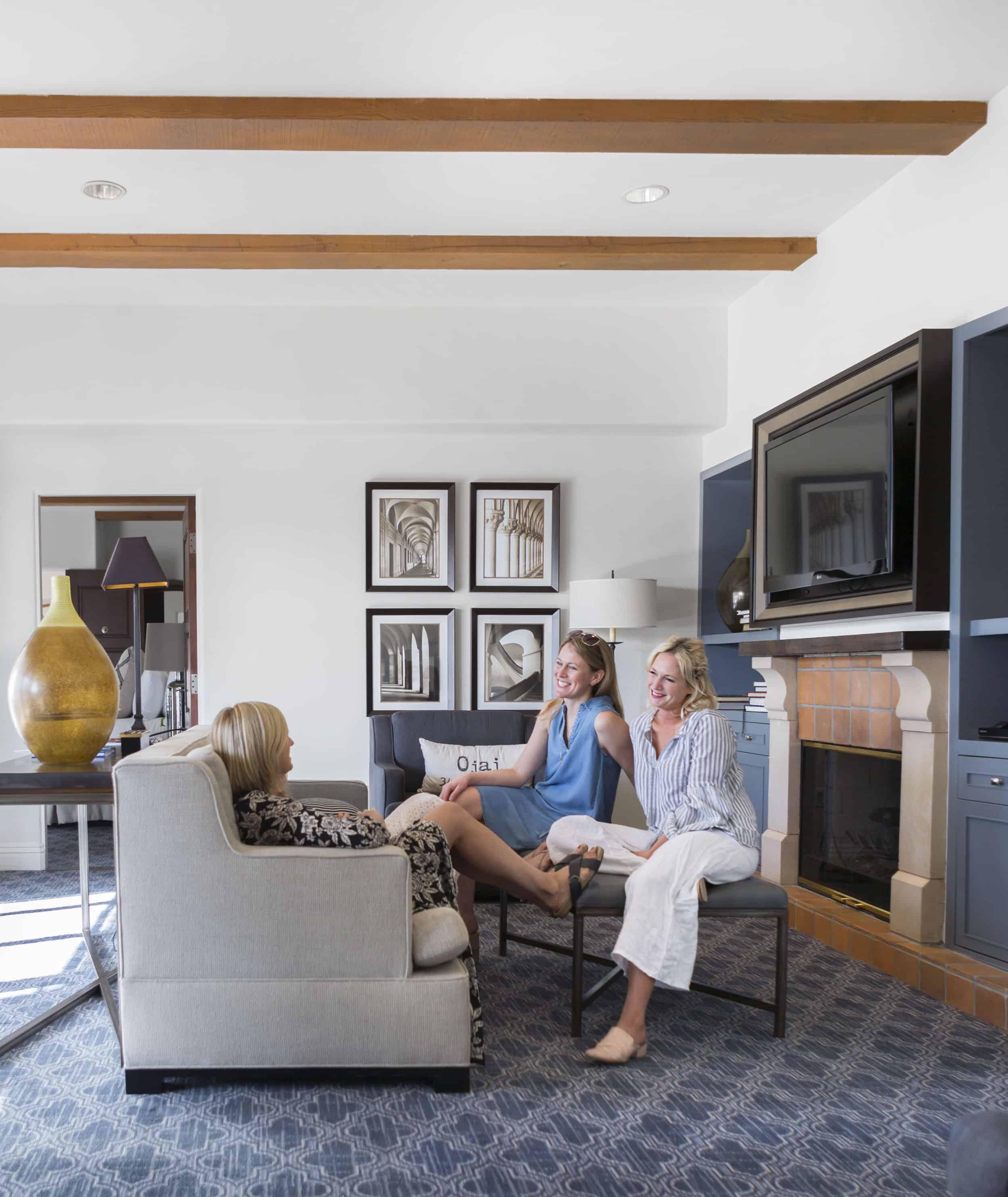 Emily Henderson Ojai Valley Inn En Suite Living Room