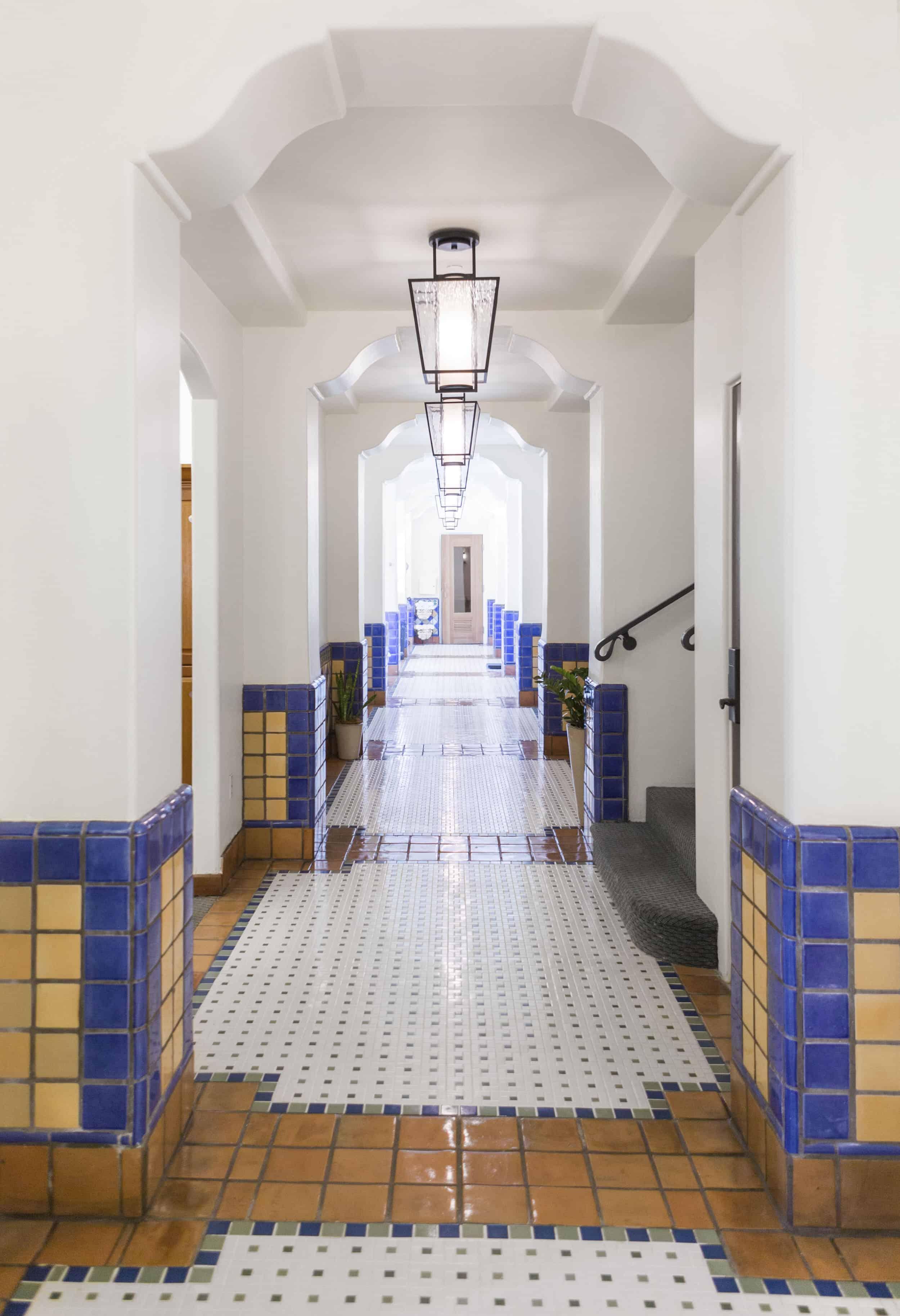 The Spa At Ojai Valley Inn Resort Spanish Tile