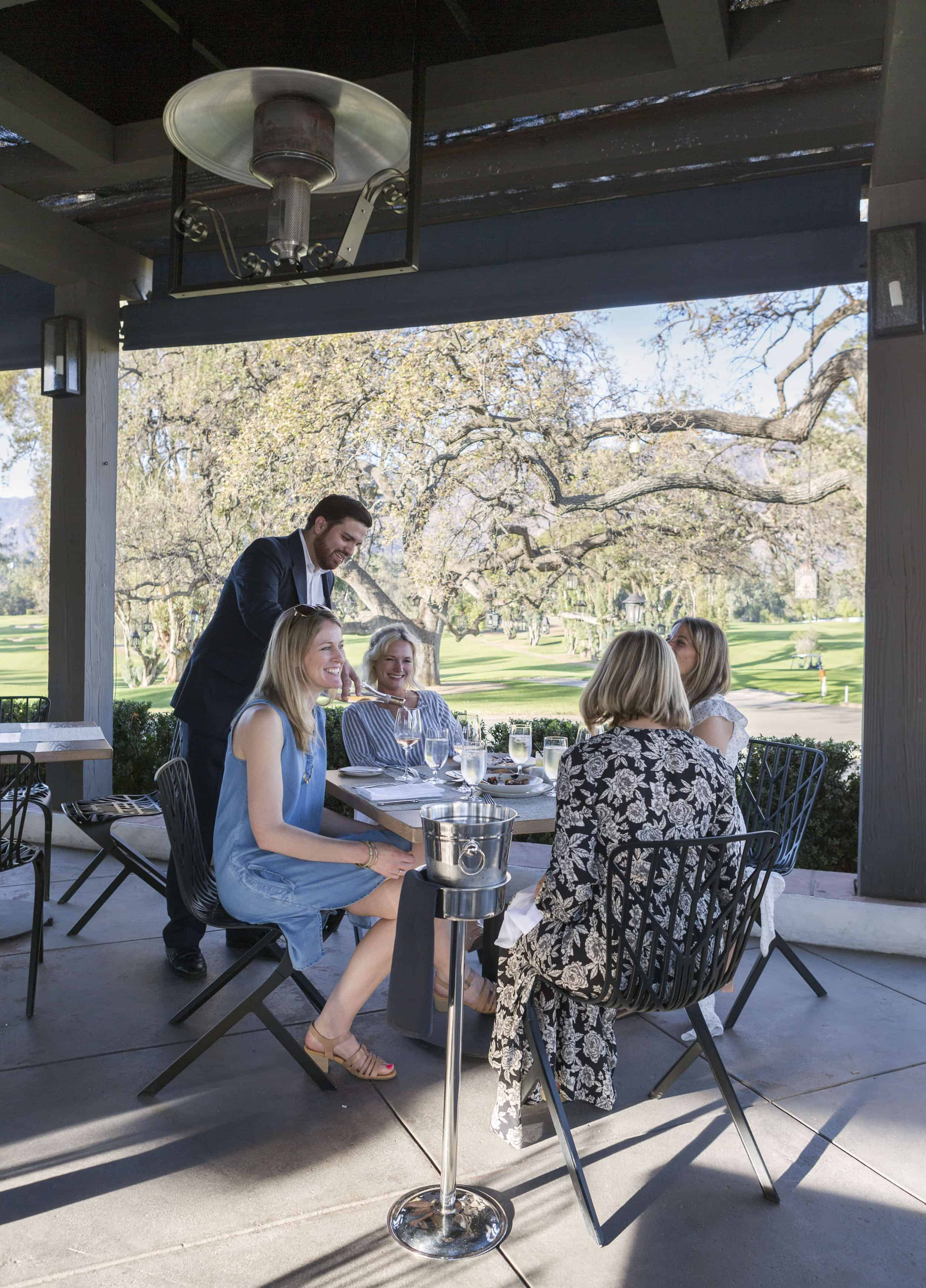 The Ojai Valley Inn Wine On The Patio