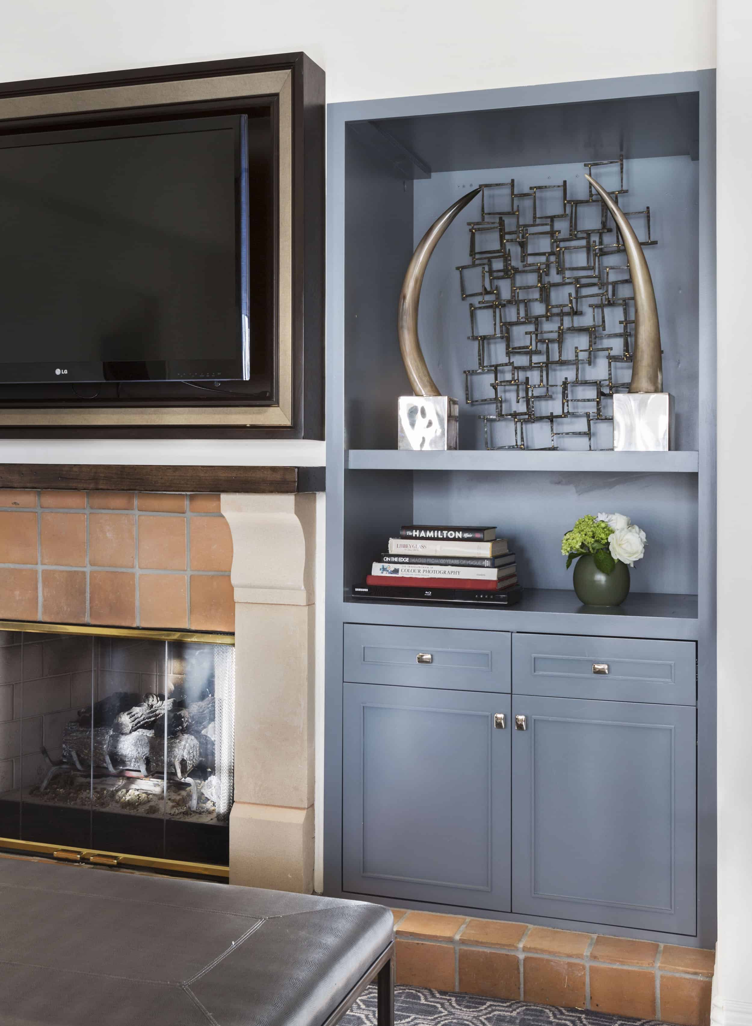 Modern Traditional TV Cabinet