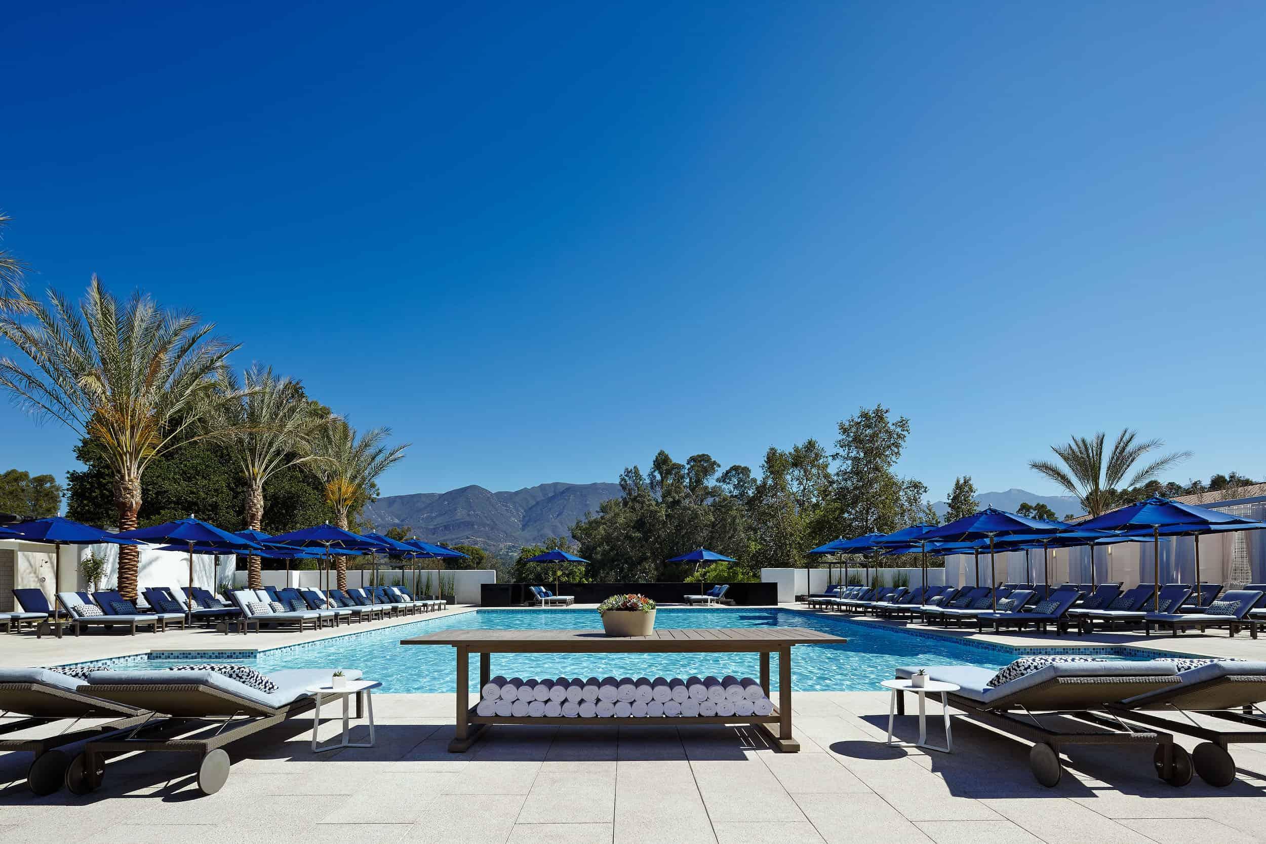 Ojai Valley Inn Outdoor Pool Cabana