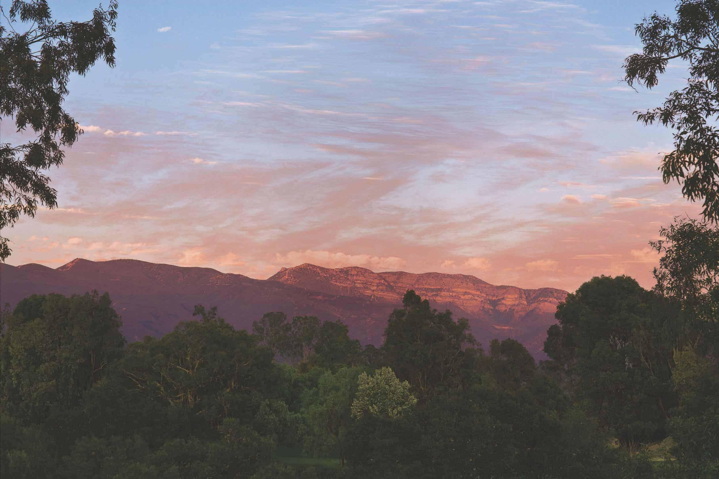 Ojai Valley Inn Pink Moment