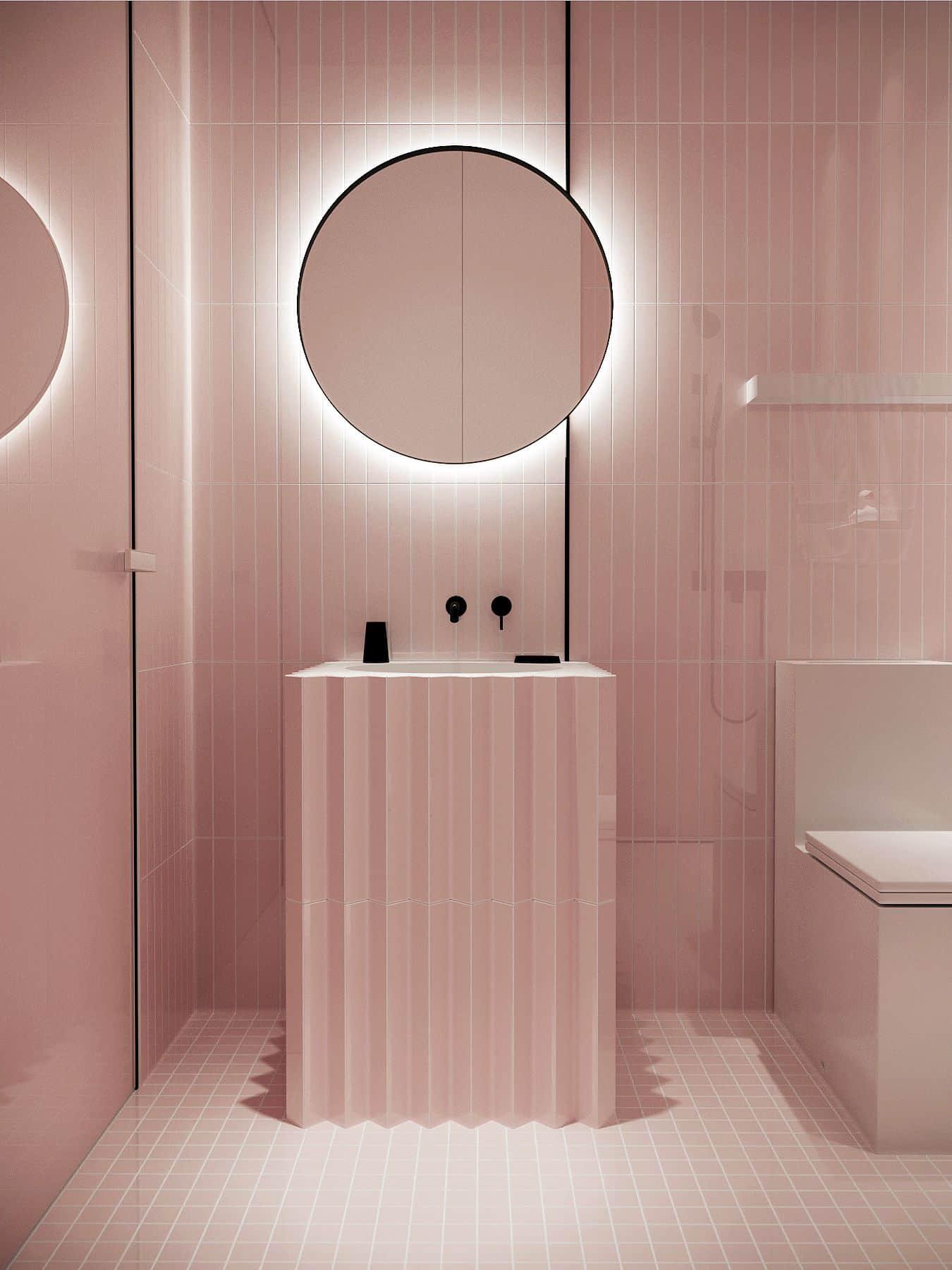 Emily Henderson Design Trends 2018 Bathroom Black Fixture 04