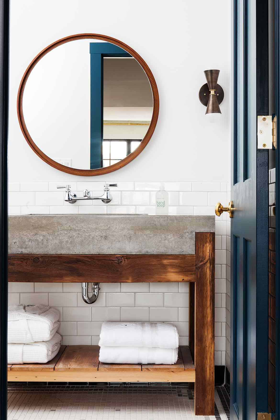 Emily Henderson Design Trends 2018 Bathroom Concrete 02