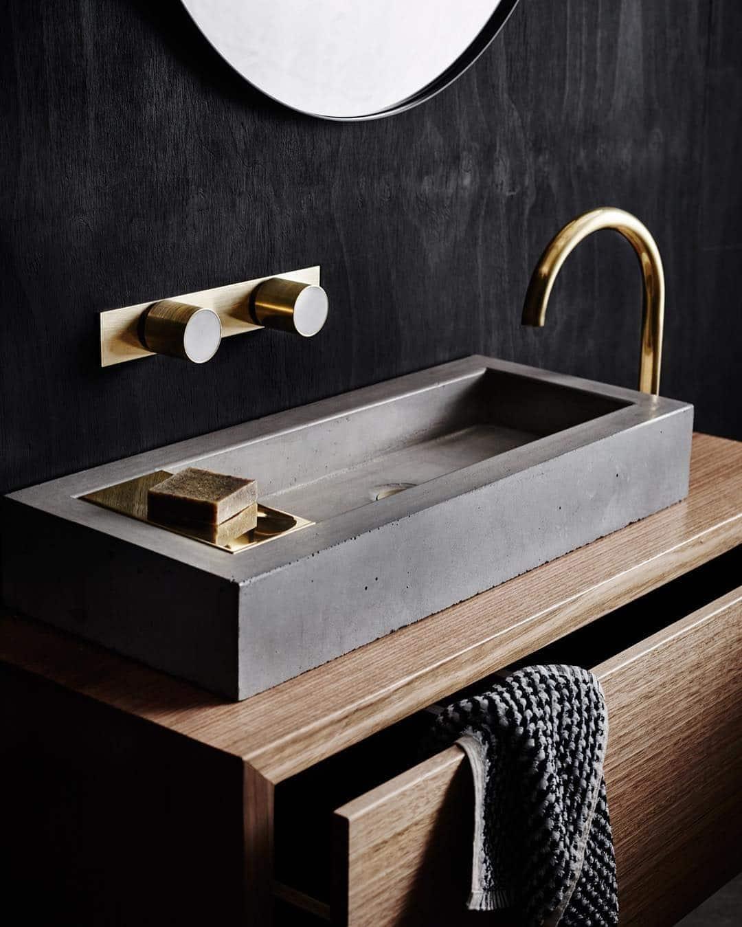 Emily Henderson Design Trends 2018 Bathroom Concrete 03
